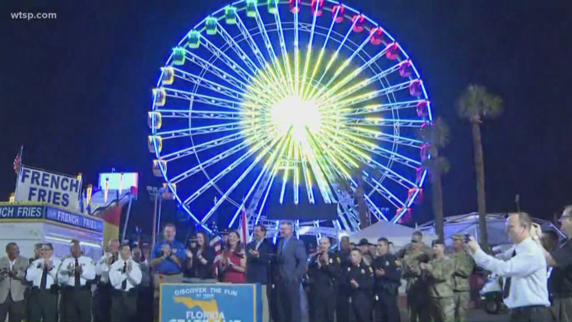 Gov. Ron Desantis Flips Switch To Kick Off Florida State Fair Inside Schedule Of Events For Monday At Florida State Fairgrounds