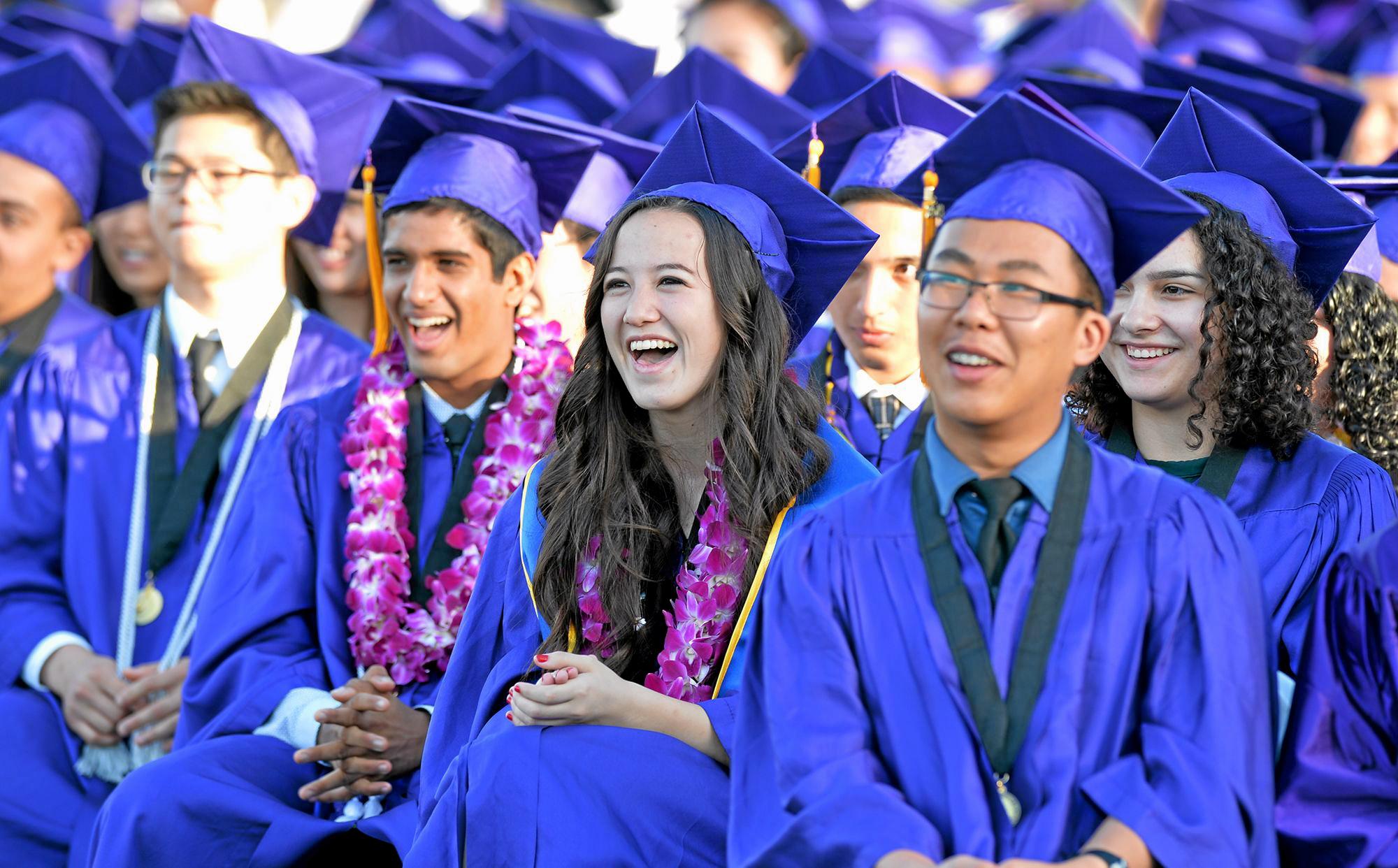 Graduation 2014: The Diamond Bar High School Commencement As With Diamond Bar High School Holiday Schedule