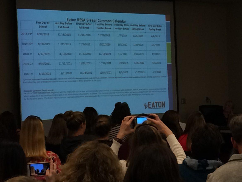 Grand Ledge Community Concerned About Modified Calendar Throughout Grand Ledge Public Schools Calendar