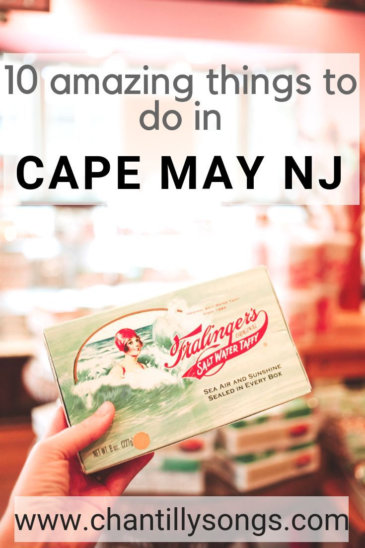 Guide To Cape May And Wildwood, New Jersey: 10 Fantastic Within Order Wildwood Nj Usa Tourist Brochure