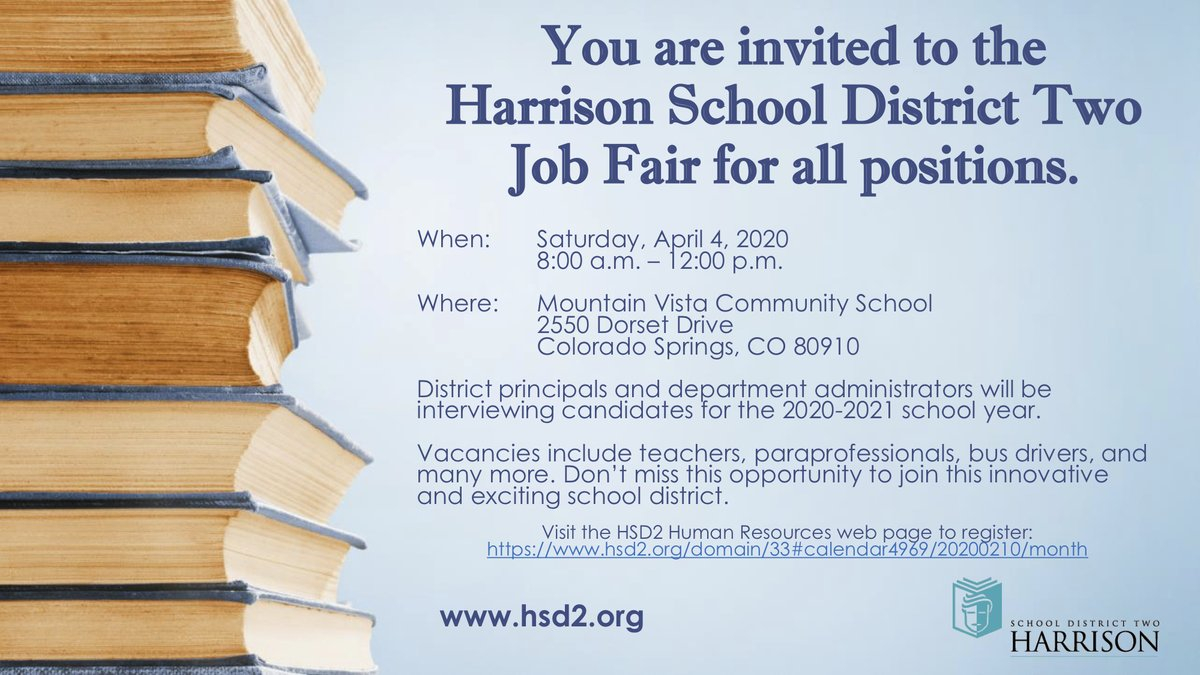 """Harrison District 2 On Twitter: """"are You Interested In Intended For Harrison School District 2 Calendar 2021"""