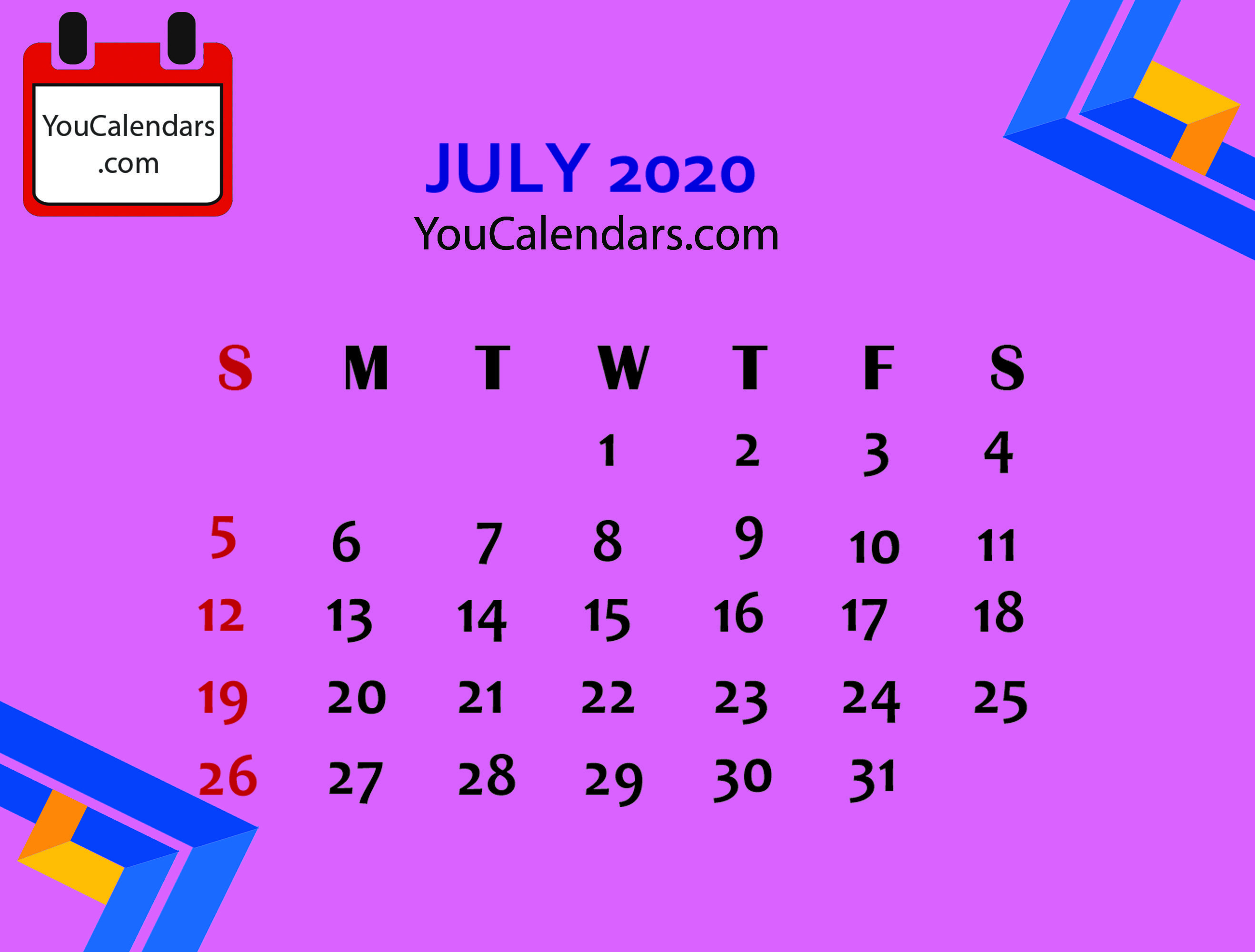 Here You Will Get High Quality Calendar Like Free July 2020 With Regard To Uri Academic Calendar Holiday