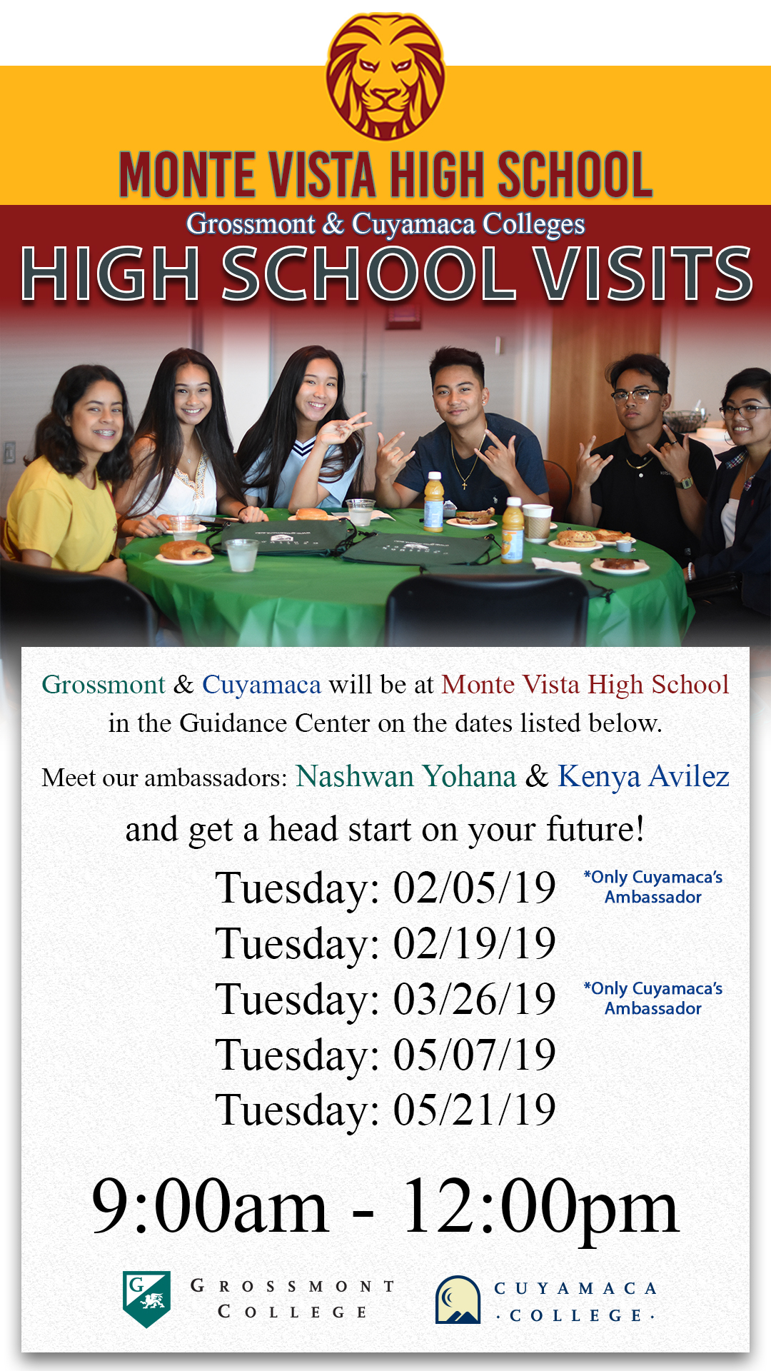 High School Students Intended For Grossmont High School Academic Calendar