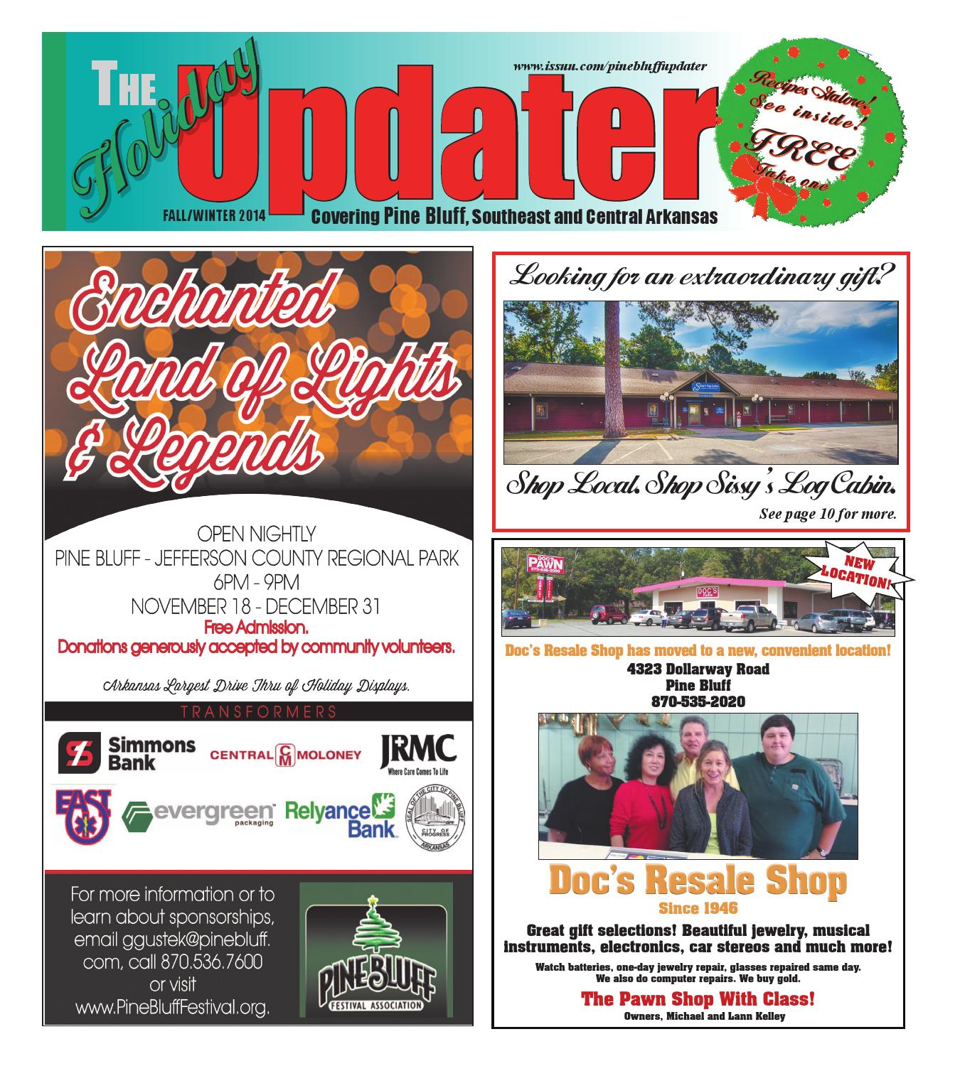 Holiday Updaterthe Updater - Issuu Intended For When Is Spring Break 2020 In Pine Bluff