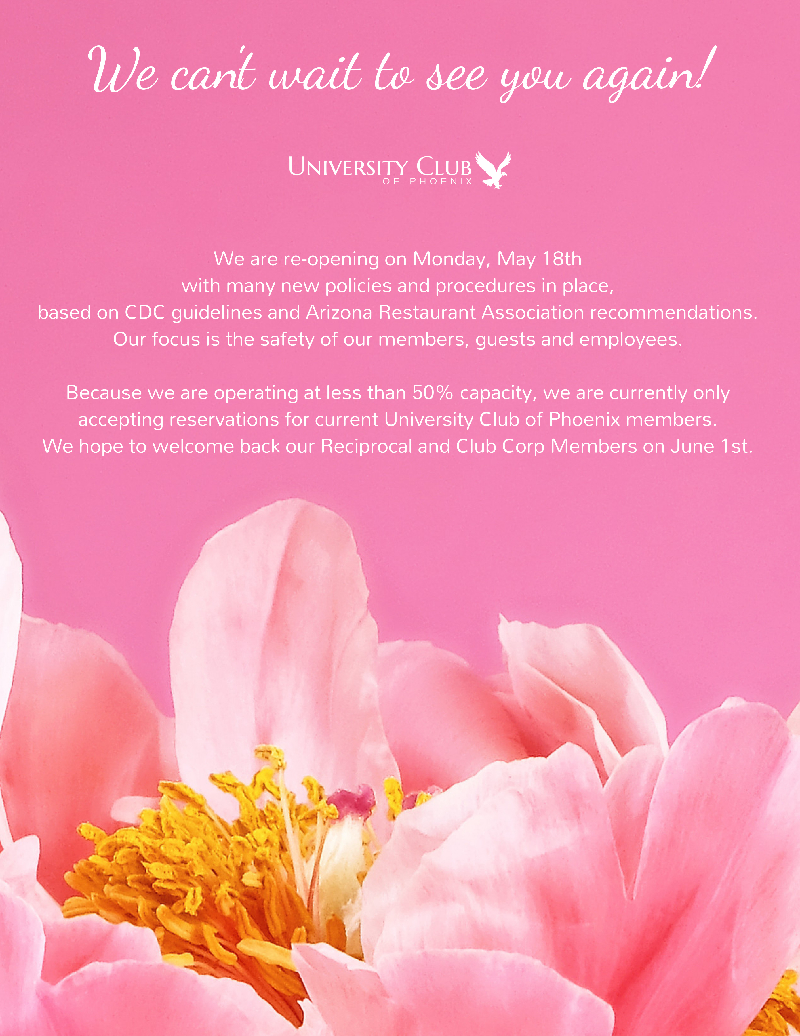Home – University Club Of Phoenix Pertaining To University Of Phoenix Holiday Calendar 2020