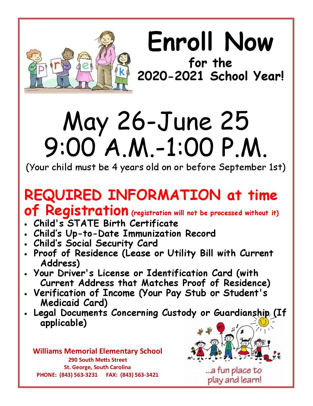 Home - Williams Memorial Elementary School Regarding Dorchester County School Calendar 2021 2020