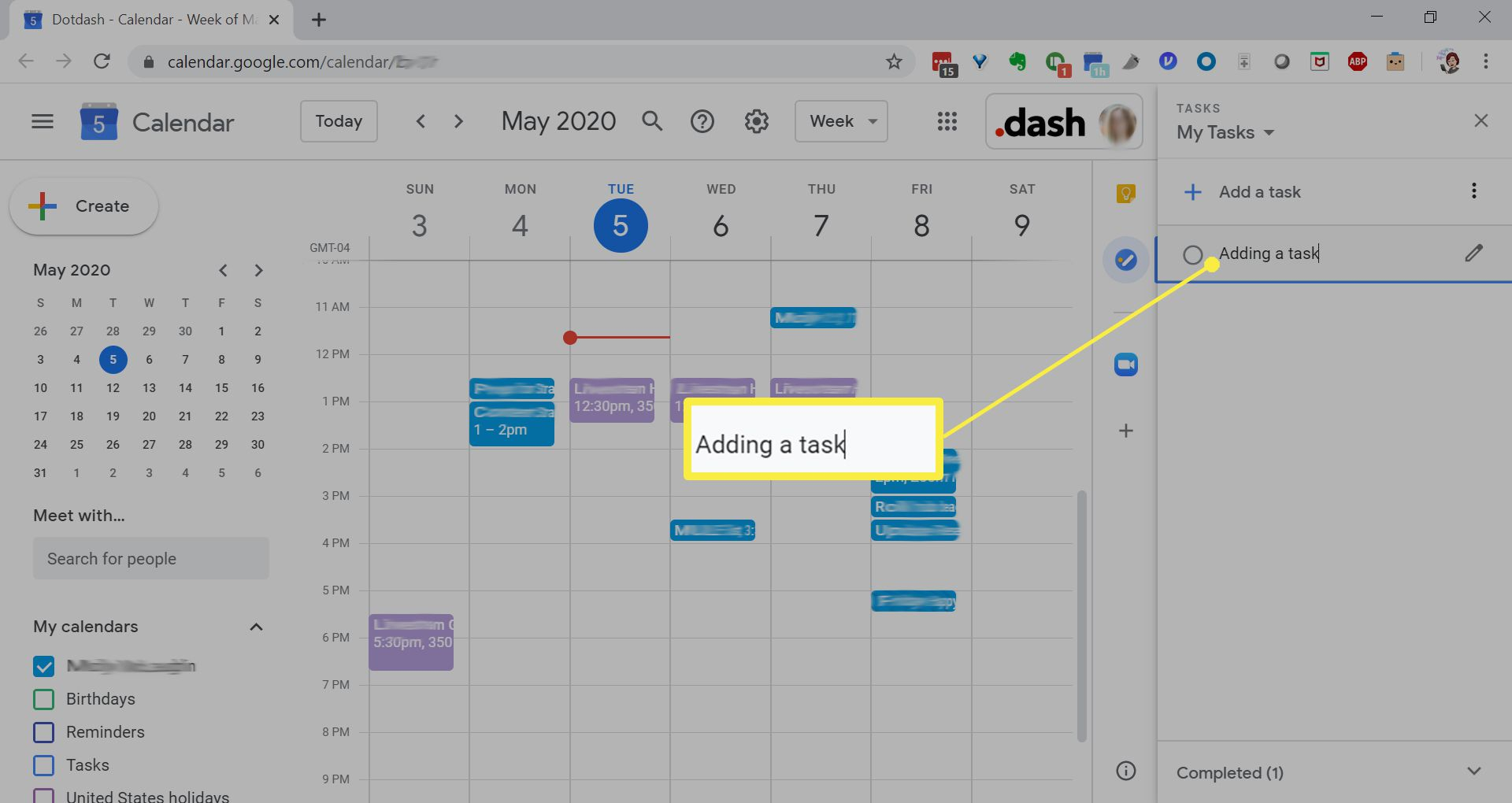 How To Add Tasks To Google Calendar With Regard To Add Tasks To Google Calender On Ipad