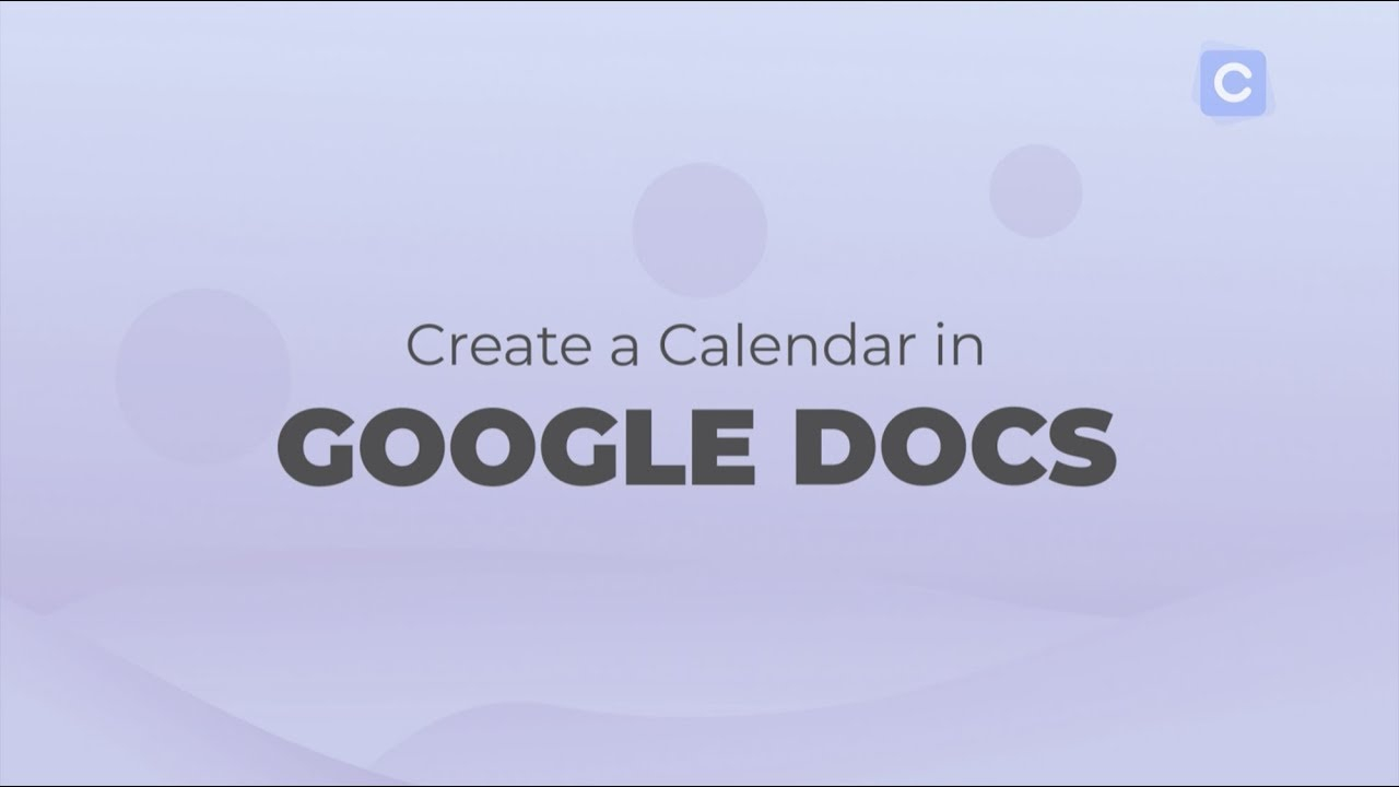 How To Create A Calendar In Google Docs - Calendar With Outlook 2021 Google Calendar Edit