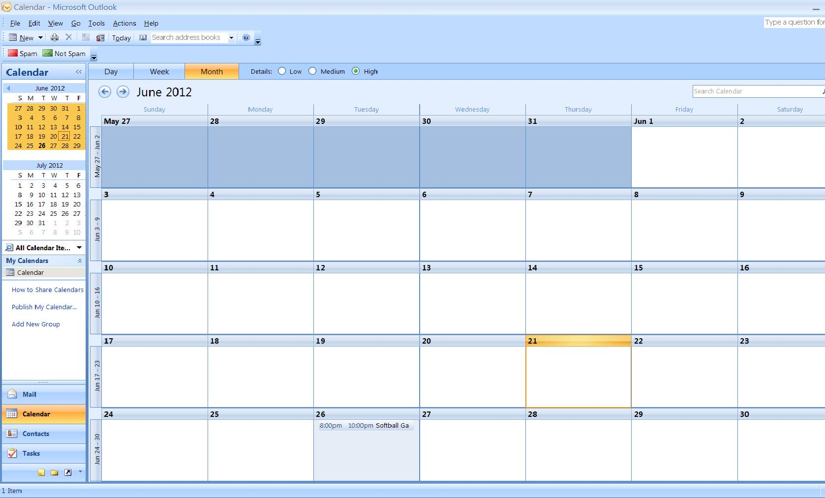 How To Import A Calendar From Excel To Outlook | Turbofuture In Convert Excel Spreadsheet To Calendar