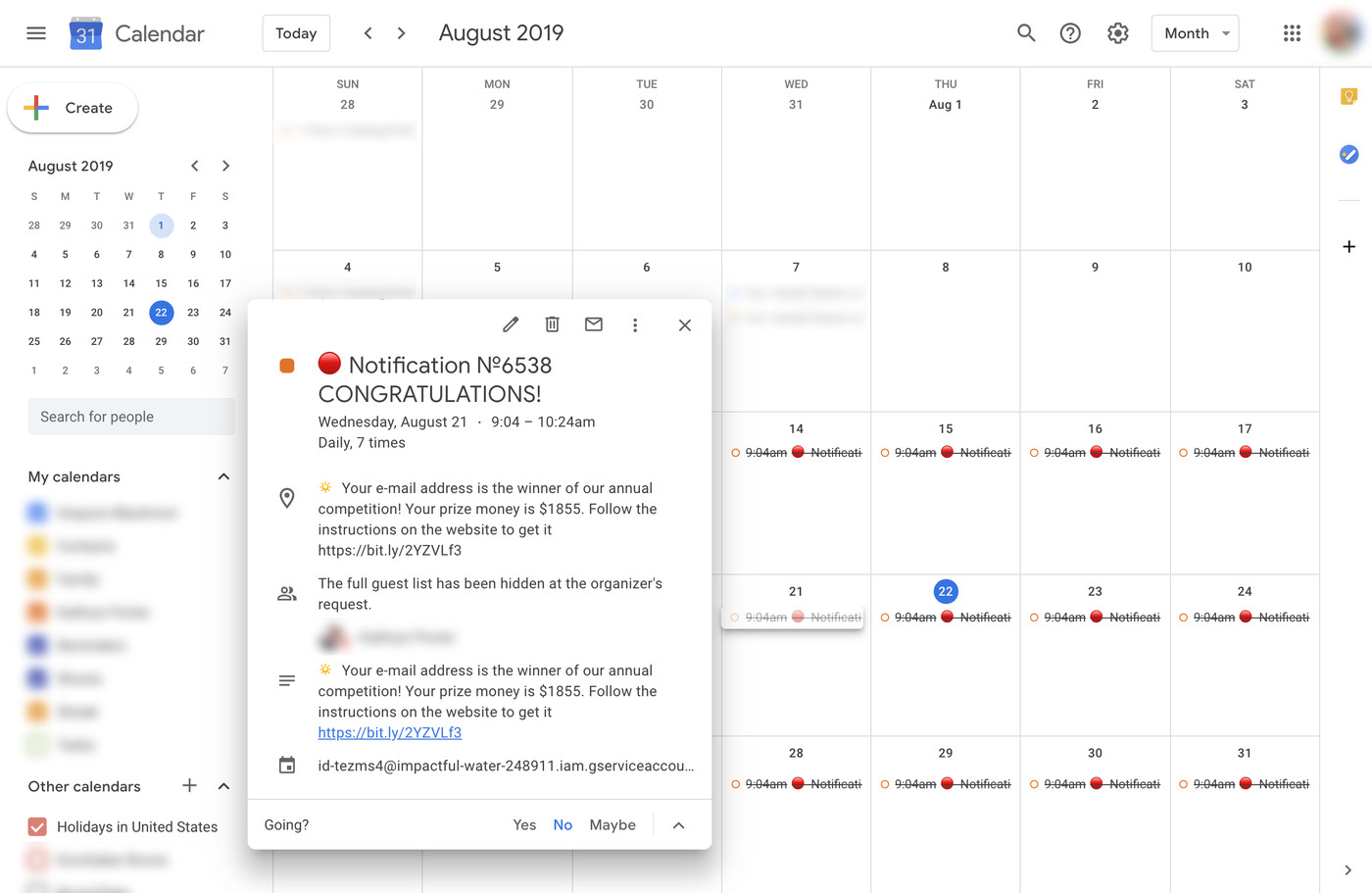 How To Keep Spam From Invading Your Google Calendar – The Verge Within Does Gmail Have A Calendar
