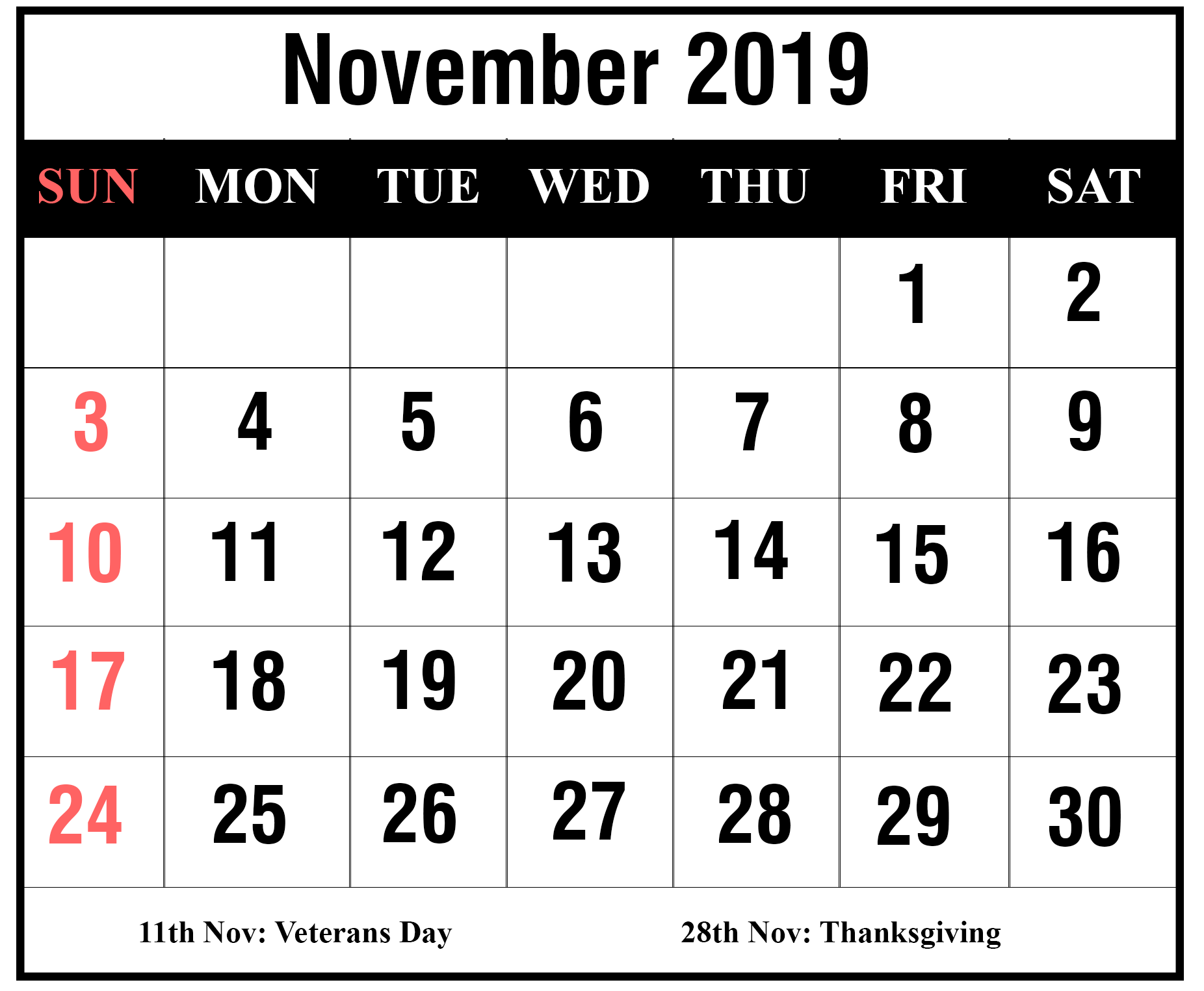 How To Schedule Your Month With November 2019 Printable Regarding Fall Tv Line Up 2021 2020 Printable