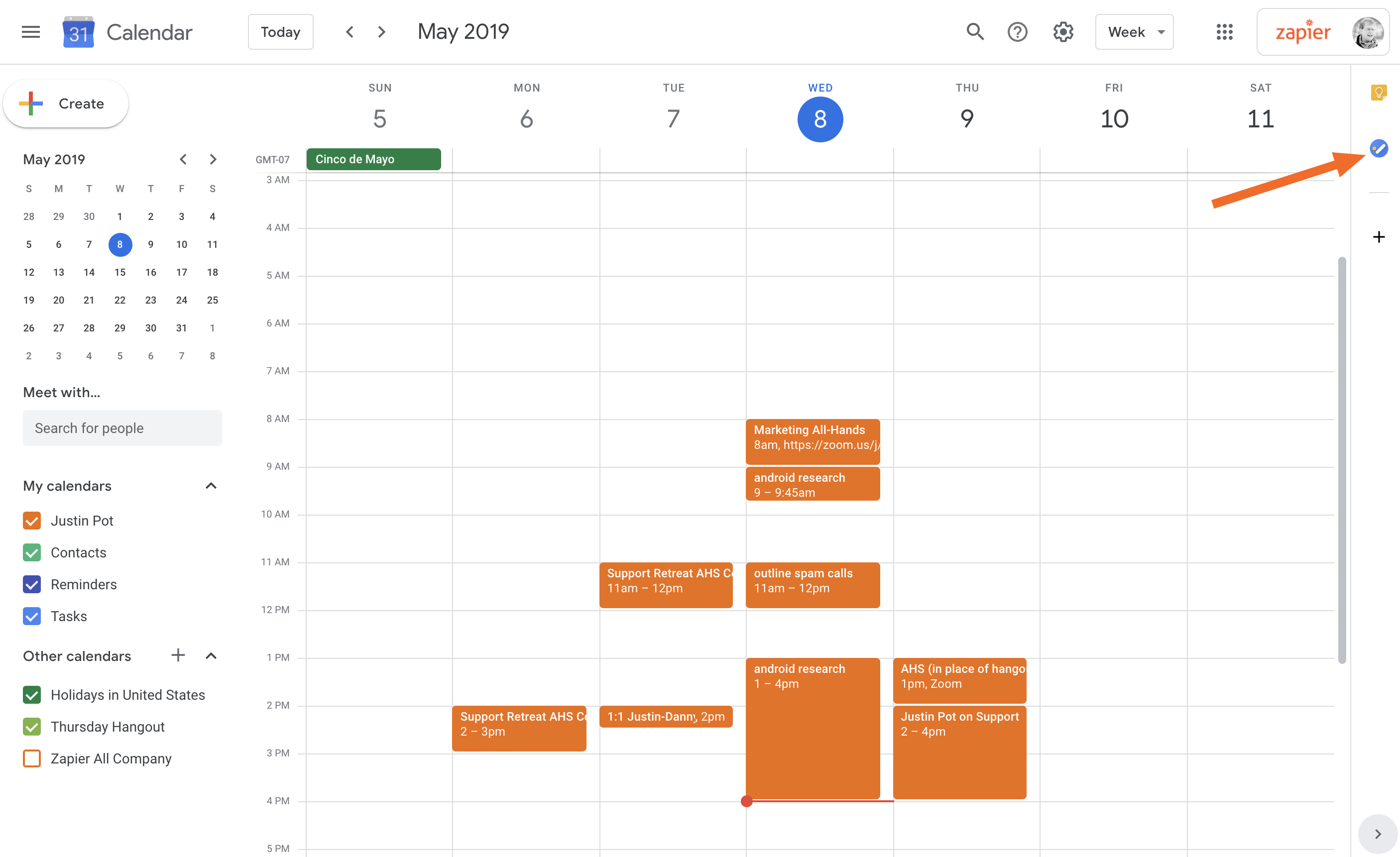 How To Turn Google Calendar Into The Ultimate Productivity Hub Pertaining To Add To Google Calendar Button
