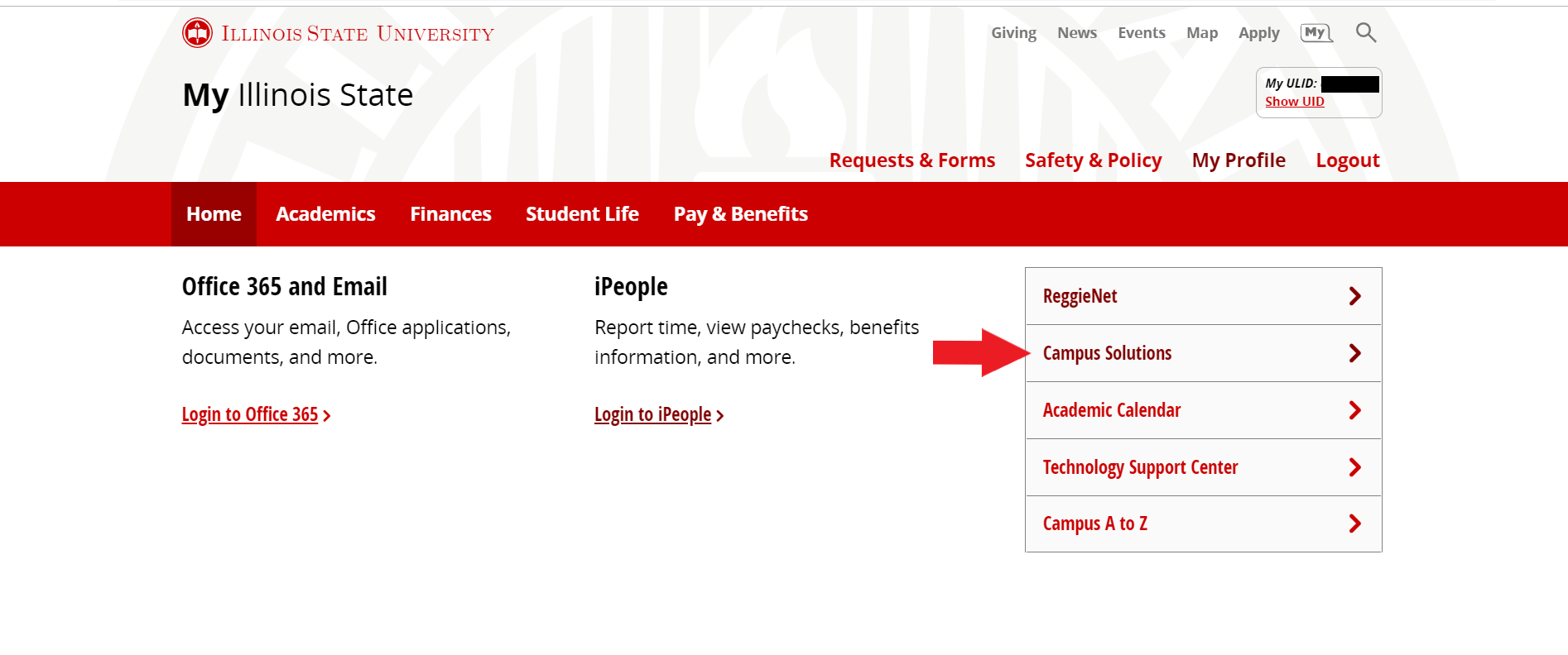 How To Update Your Personal Contact Information | It Help With Regard To Illinois State University Academic Calendar