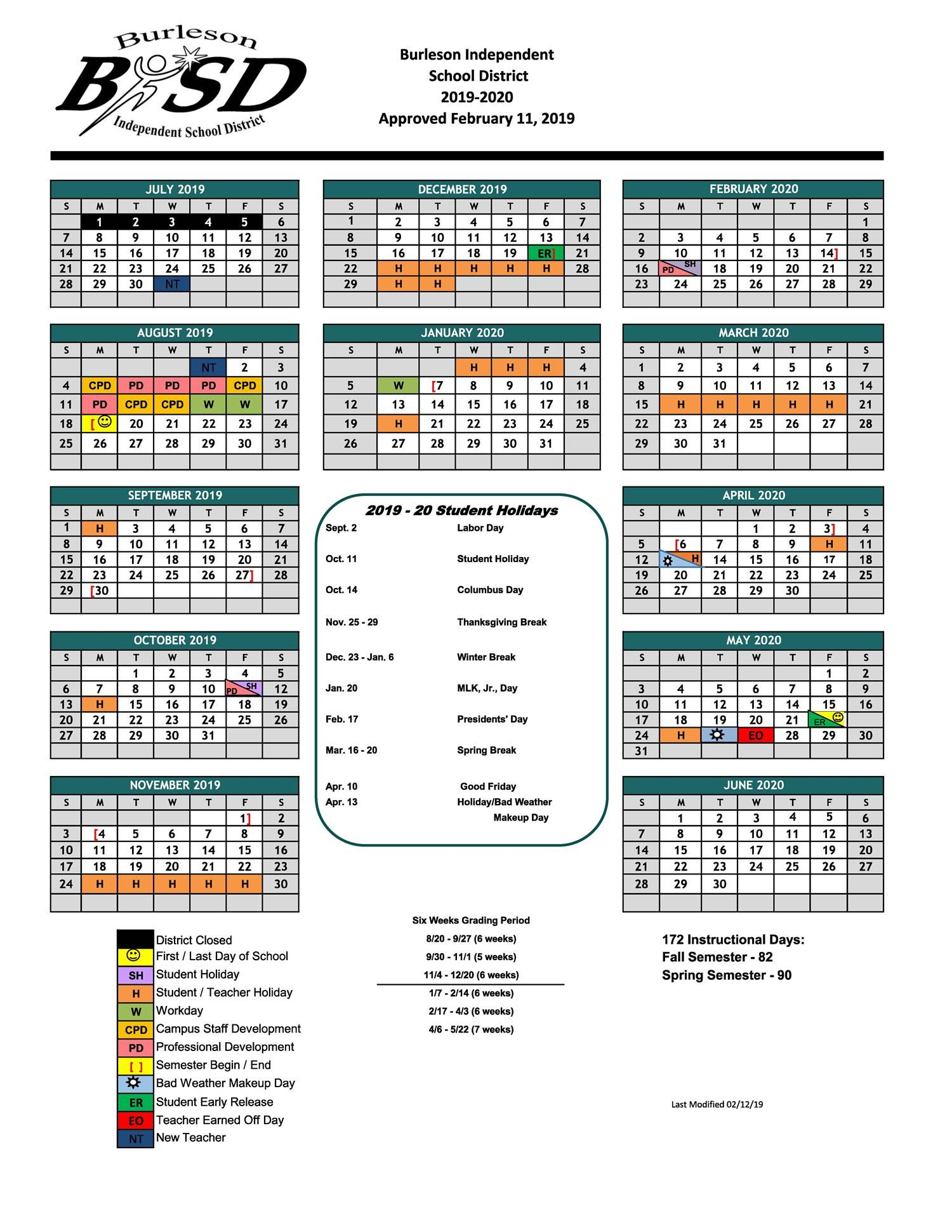 Hughes Middle School / Homepage With Regard To Brownsville Isd Academic Calendar