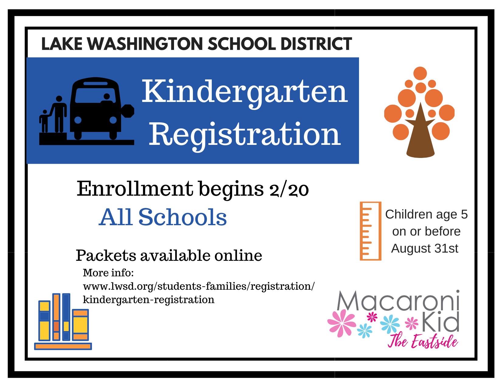 Important Dates For Kindergarten Registration 2020 2021 Throughout Mercer Island School District Calendar 2021
