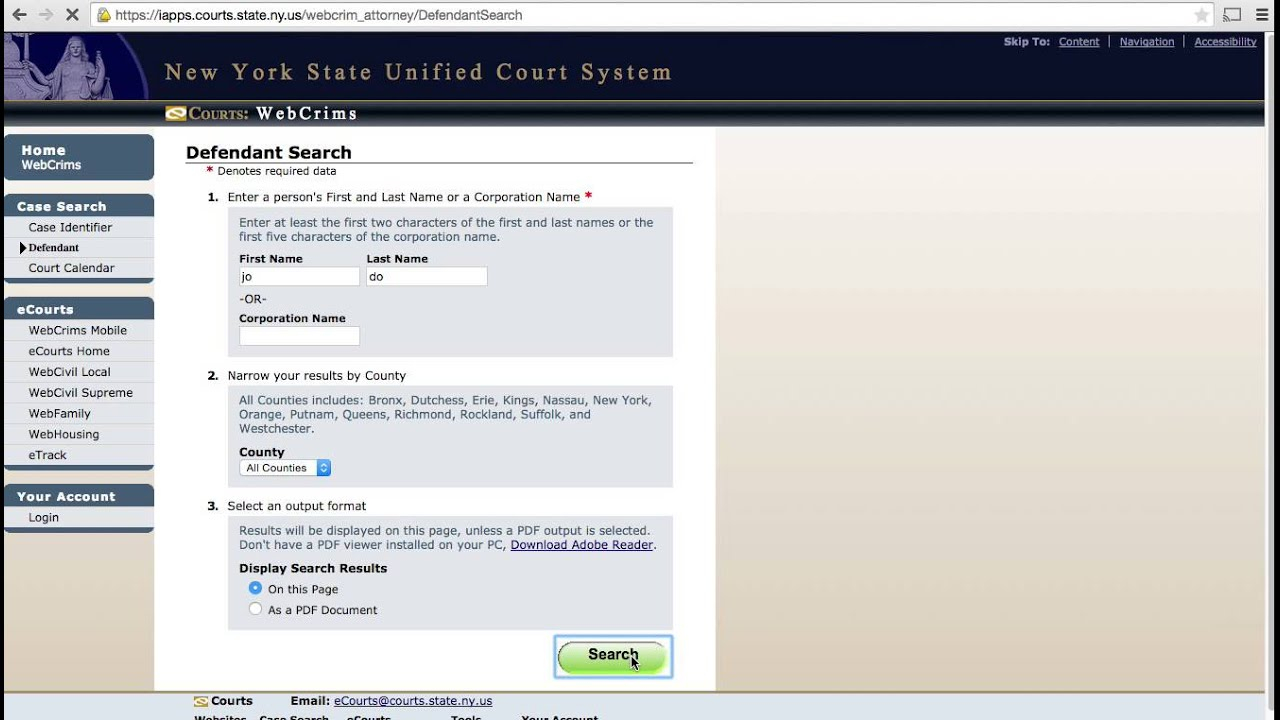 Inmate Search | Central Booking Info Pertaining To Nc Court Dates By Defendant Name Query