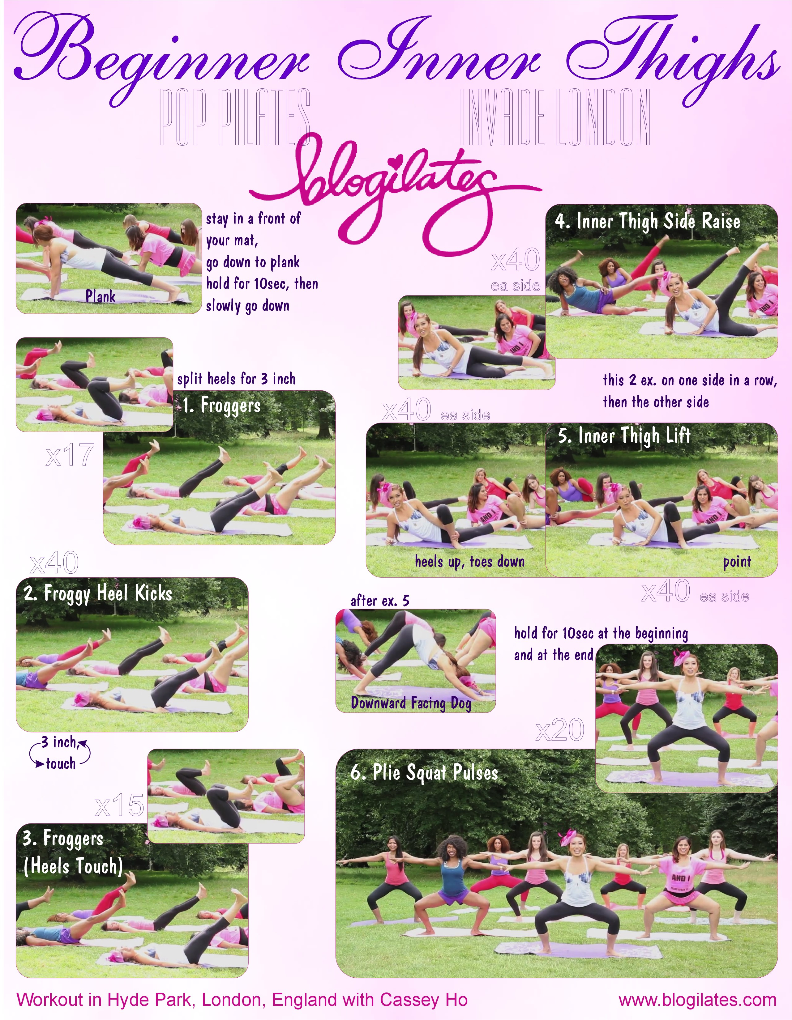 Inner Thigh Workout Printable! – Blogilates Pertaining To 30 Day Inner Thigh Challenge Printable