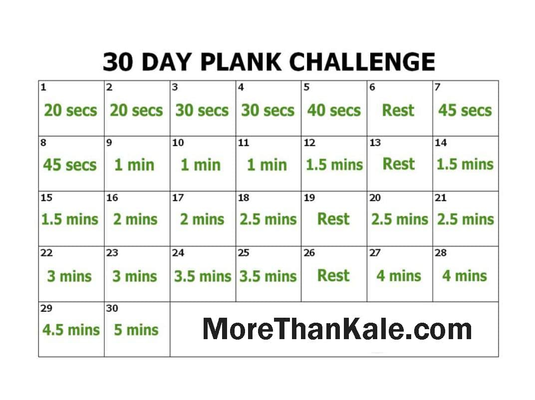 Innovative 30 Day Plank Challenge Printable Pdf Calendar With 30 Day Push Up Challenge Printable Pdf