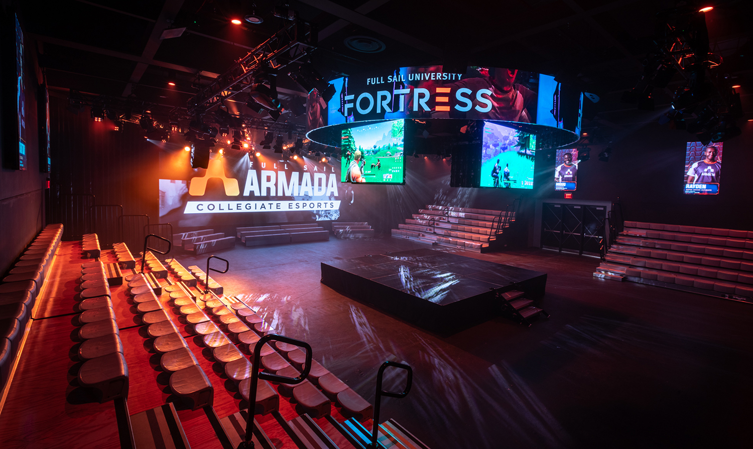Inside Full Sail University's 'the Fortress' — The Largest Within Full Sail University Calander