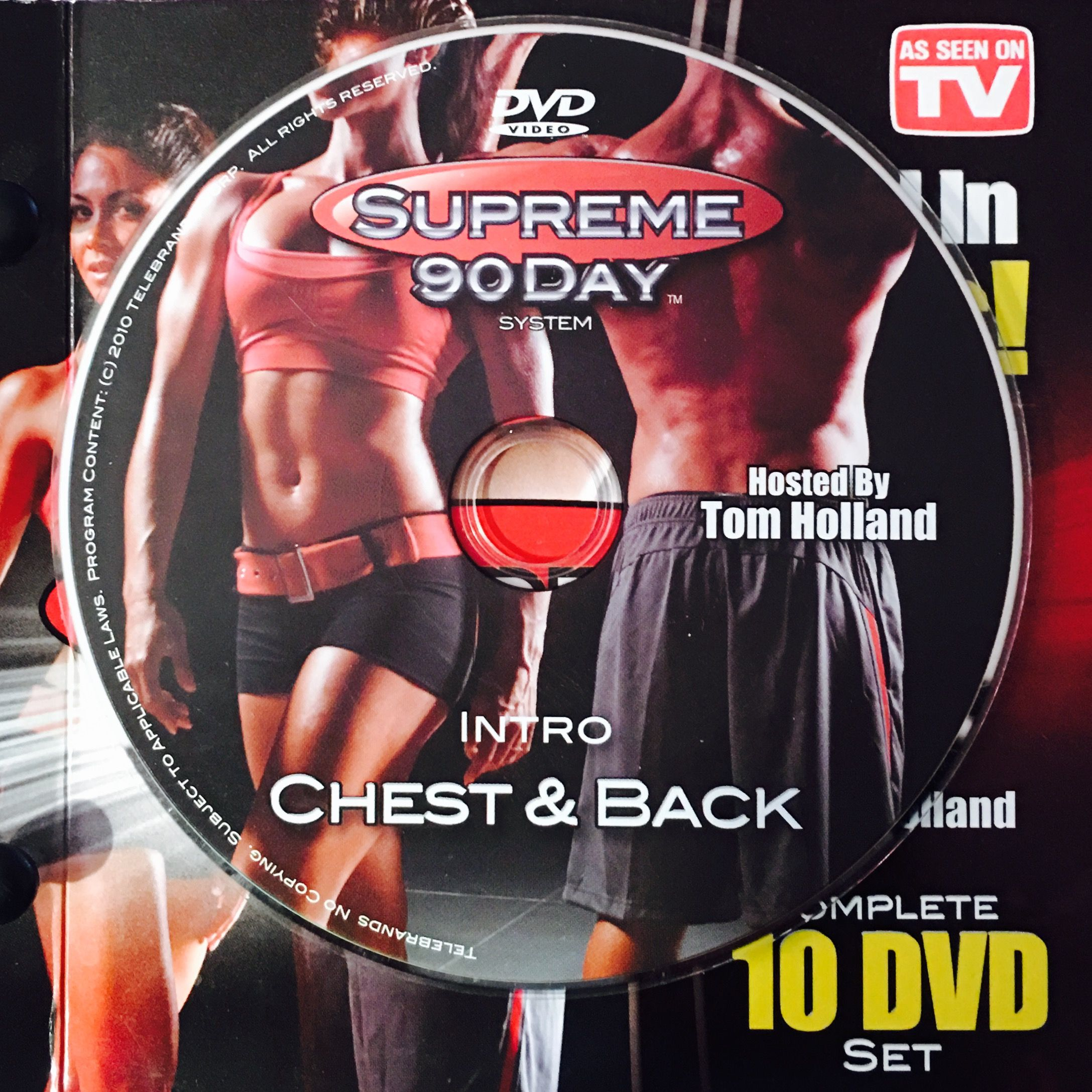 "Intro – Chest & Back. **supreme 90Day System, ""get Ripped In Inside 90 Day Supreme Workout Schedule"