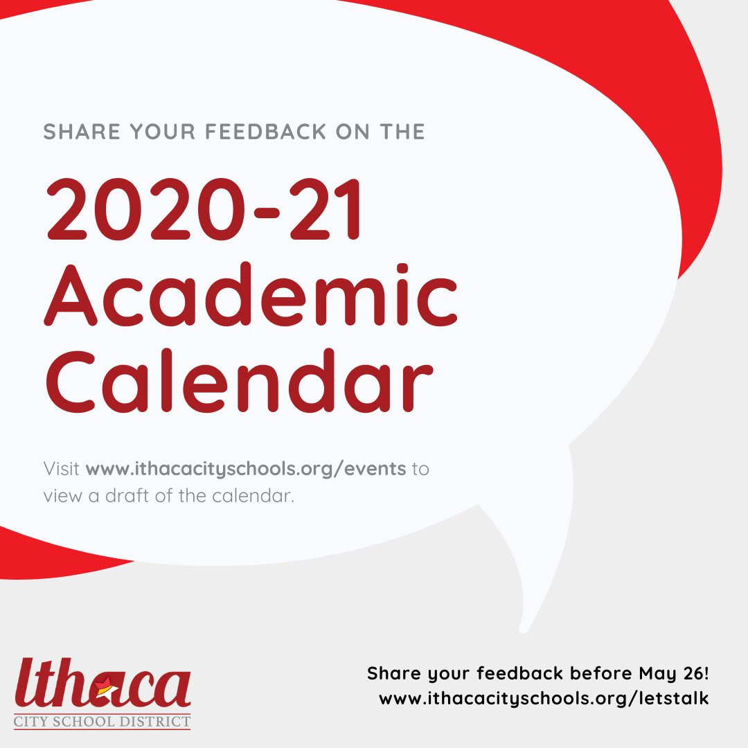 "Ithaca City School District On Twitter: ""we'd Love Your pertaining to Ithaca City School District Calendar"