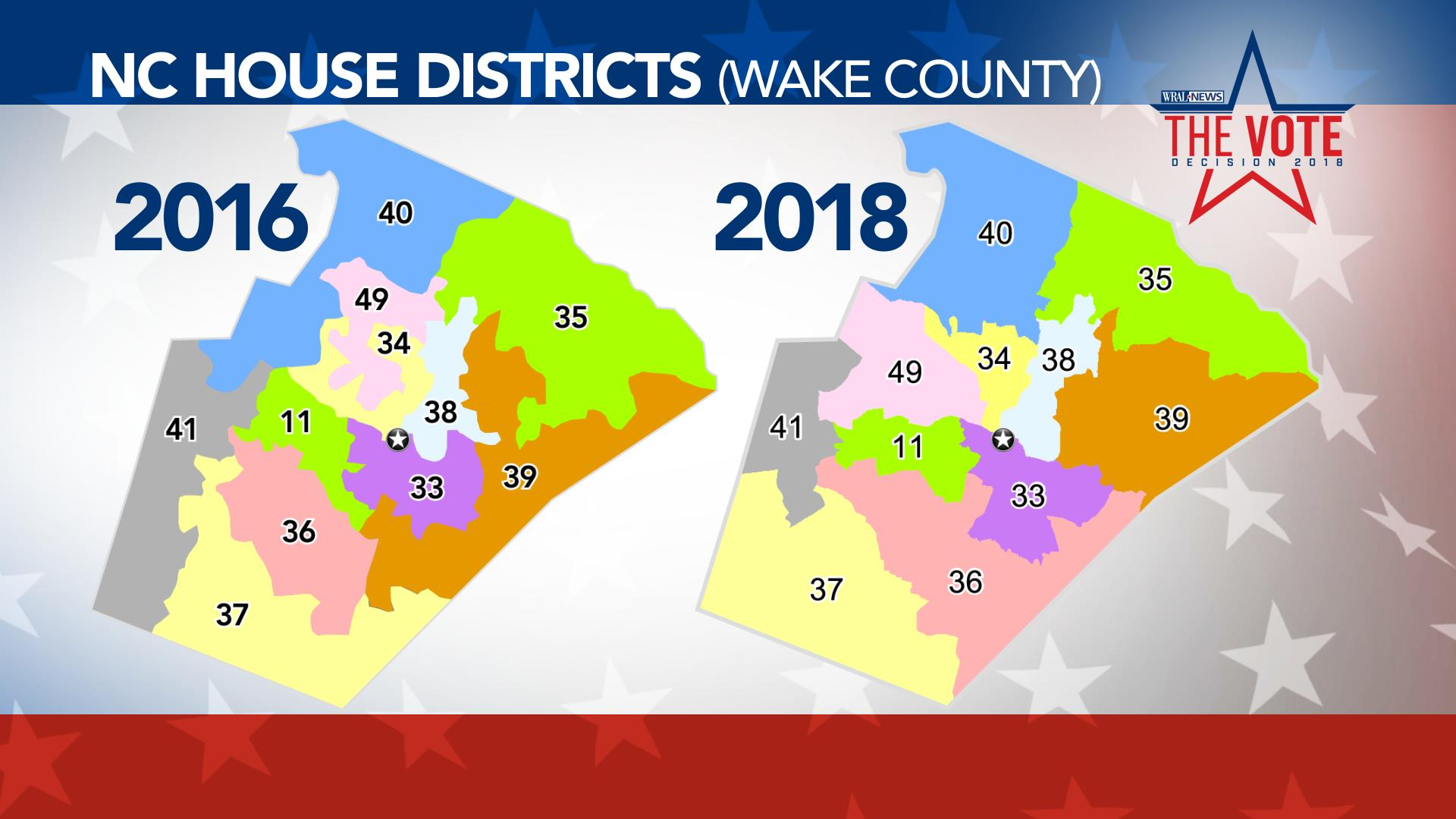 Judges Find Four Wake House Districts Unconstitutional Intended For Calendars District And Superior Court Nc