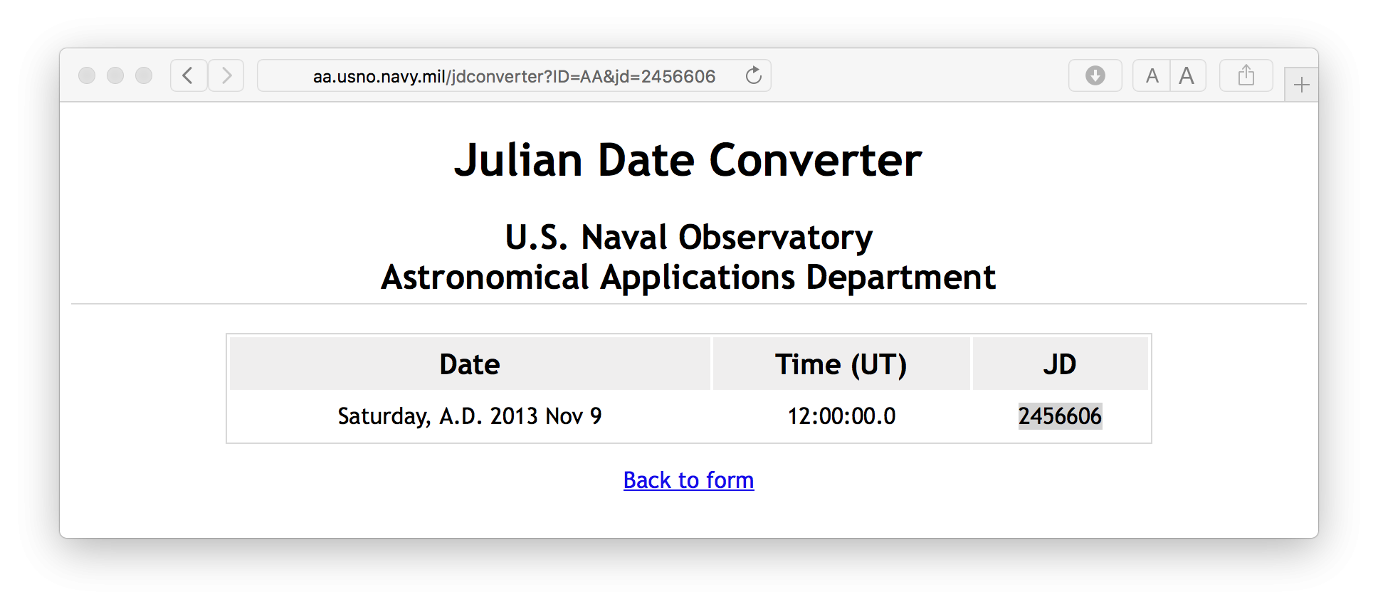Julian Date To Regular Date Conversion - Stack Overflow for Convert Julian Date 2 025 To Calendar Date