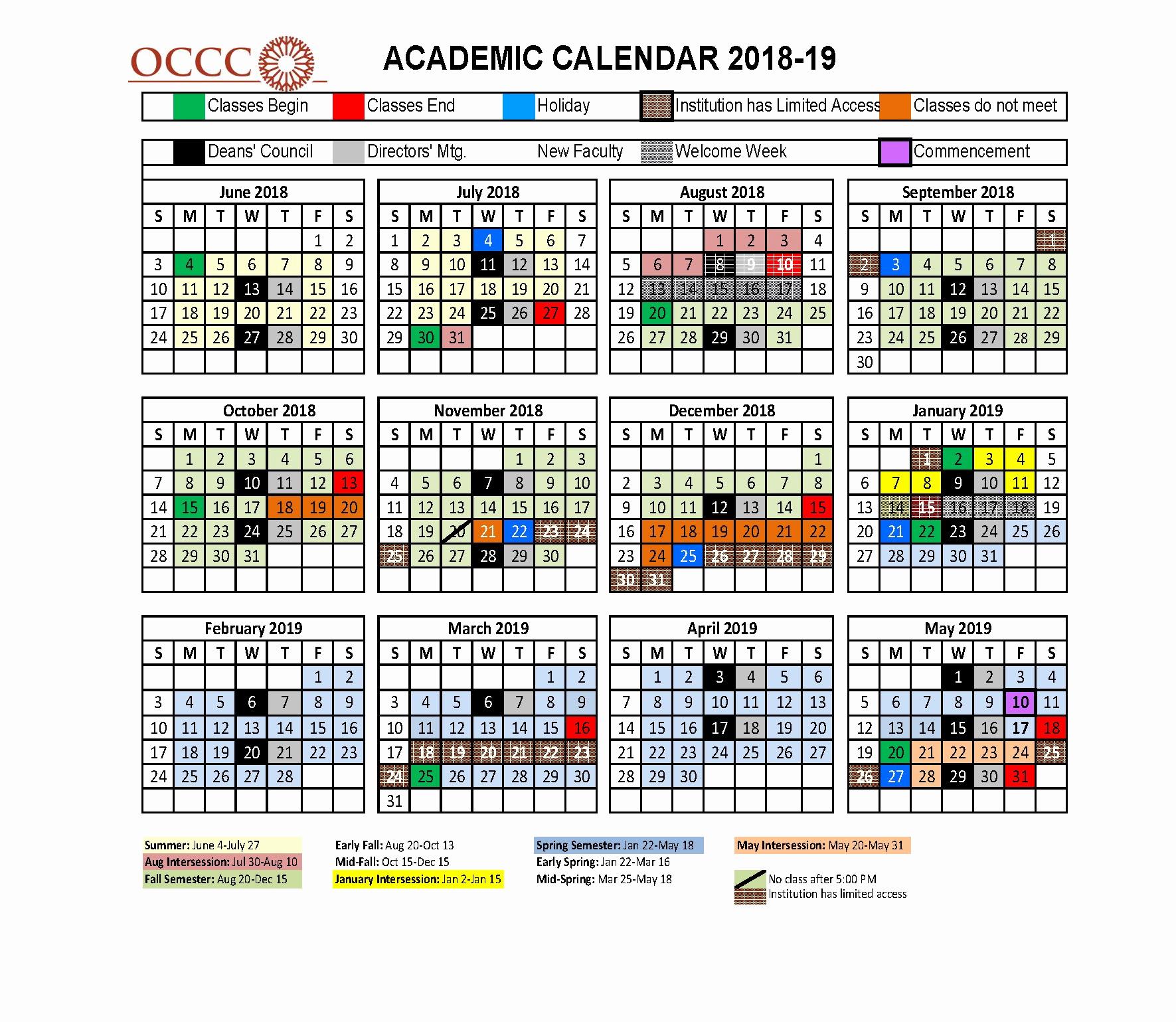 K State Calendar Spring 2020 | Calendar Printables Free Regarding Gsu Edu Academic Calendar