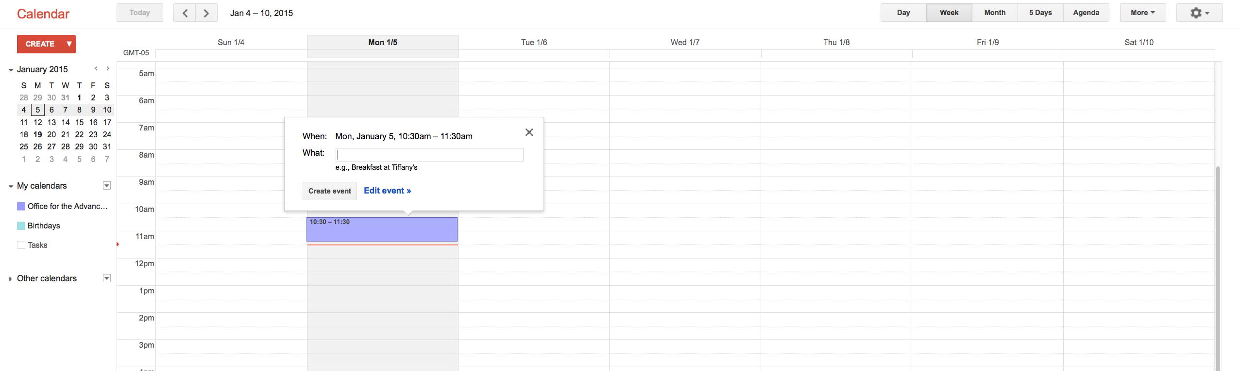 Keeping Track Of Important Dates Using Google Calendar Inside Uri Calendar Academic