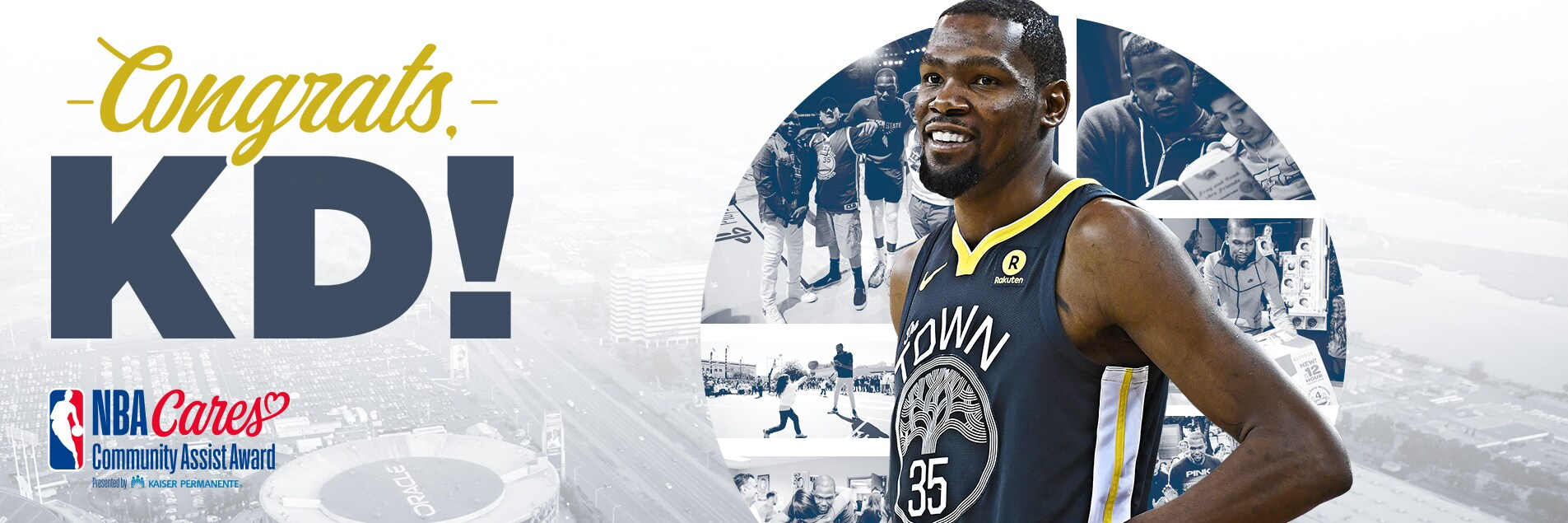 Kevin Durant Receives Seasonlong Nba Cares Community Assist inside Boys And Girls Club Of Durant Year Calender