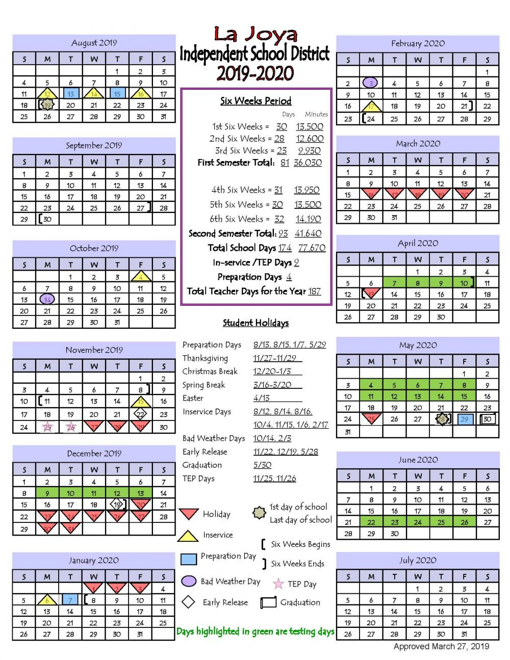 La Joya Isd – Slide Show Articles In La Joya Independent School District Calendar