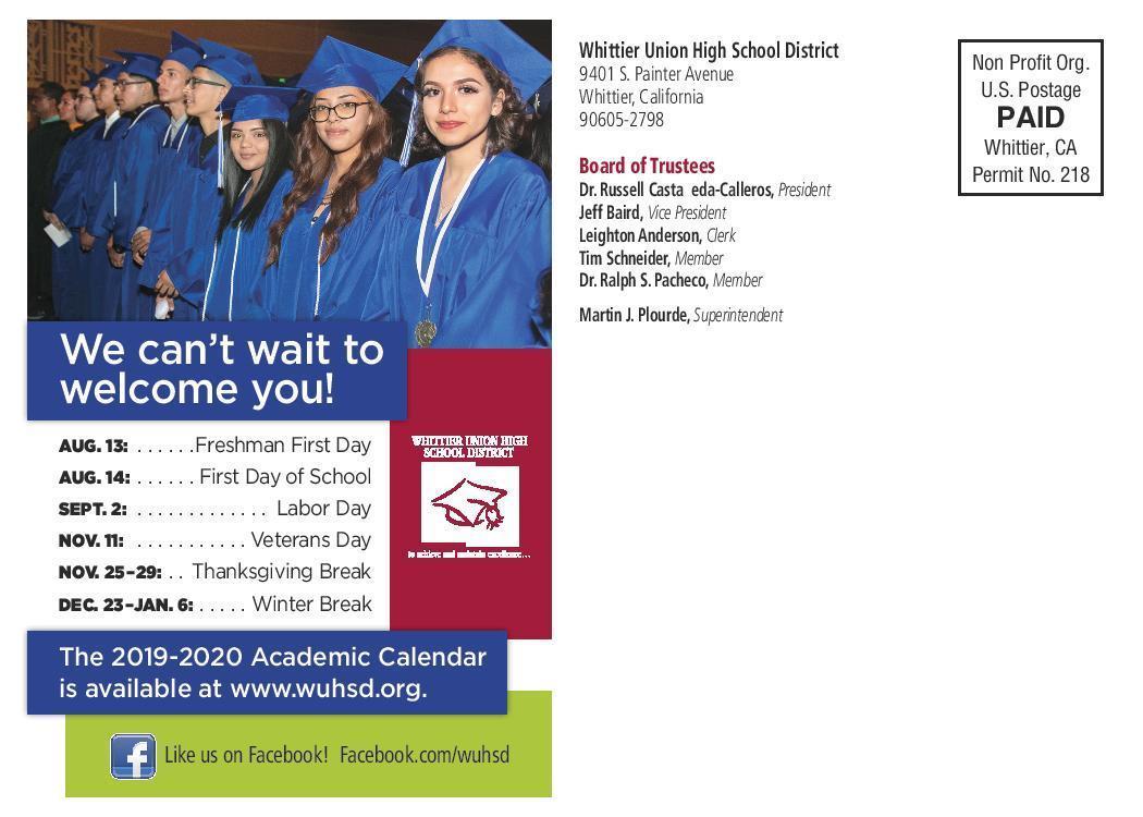 La Serna High School Regarding La Serna School Year Calendar