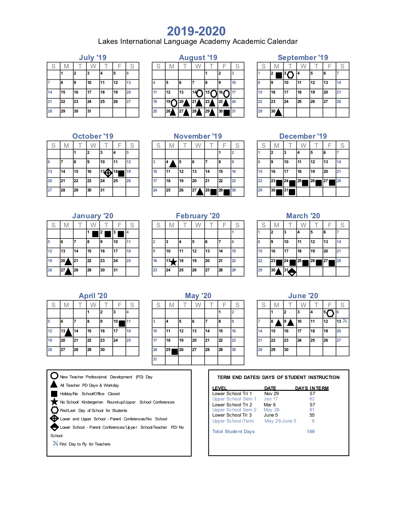 Lakes International Language Academy – Calendars With Regard To White Bear Lake Schools Activites Calendar 2021 2021
