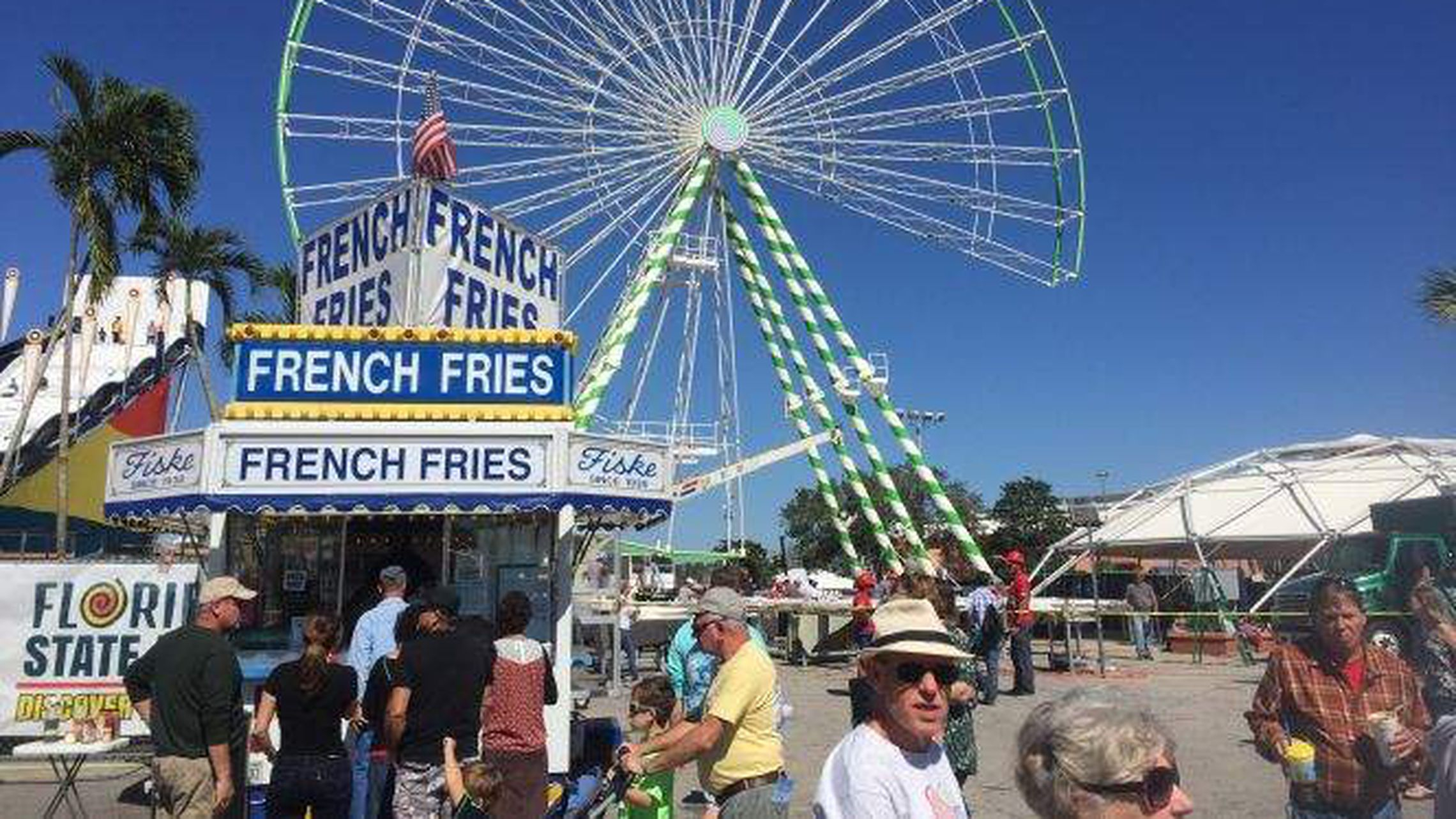 Largest Traveling Ferris Wheel Finally Spinning, Midway Intended For Schedule Of Events For Monday At Florida State Fairgrounds