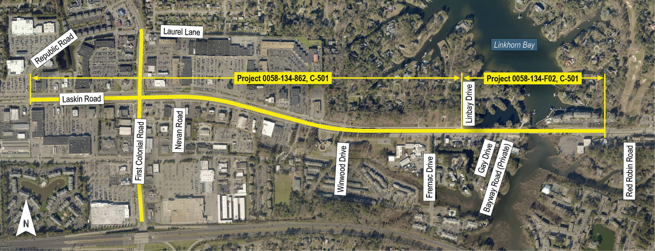 Laskin Road Bridge Replacement & Widening Project - Projects Intended For Was School Out In Virginia Beach On January 27