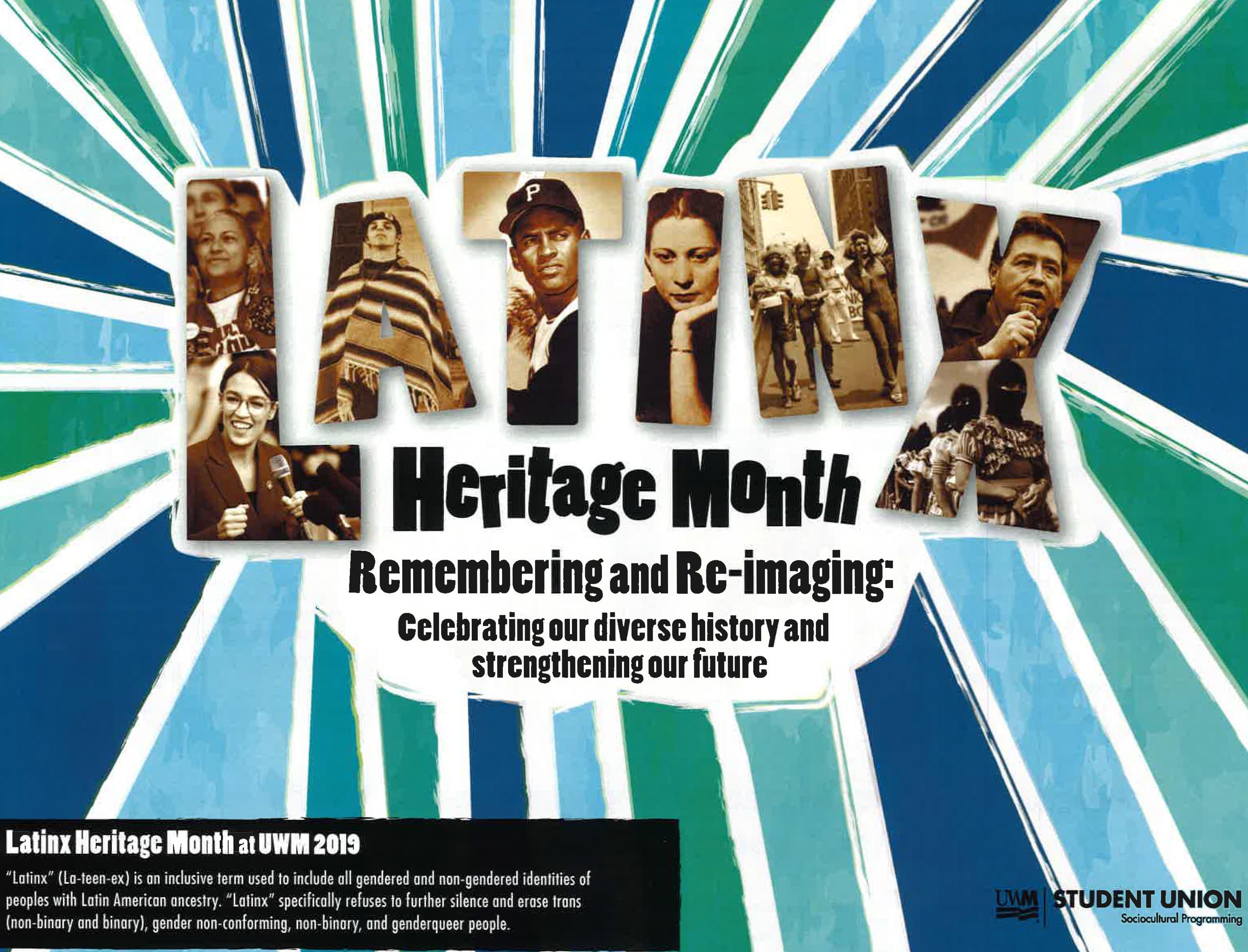 Latinx Heritage Month | Roberto Hernández Center With University Of Wisconsin Milwaukee Calendar