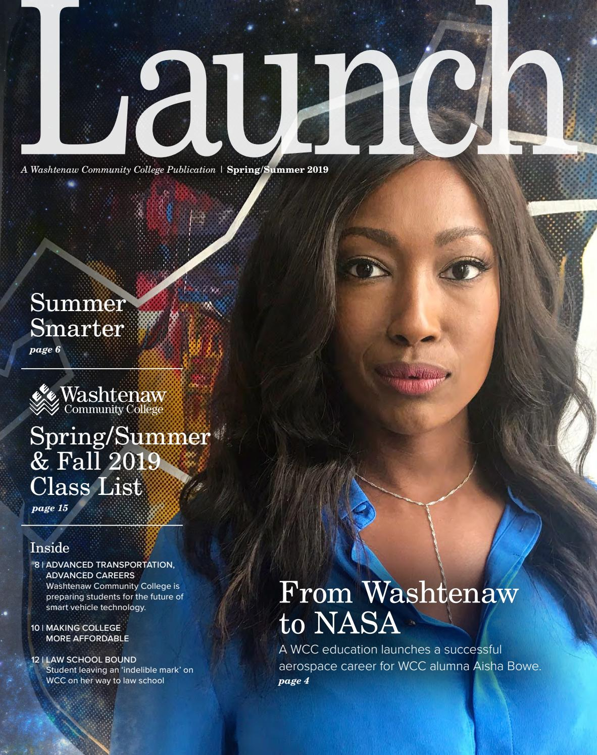 Launch Spring/summer 2019Washtenaw Community College - Issuu In Washtenaw Community College Academic Calendar