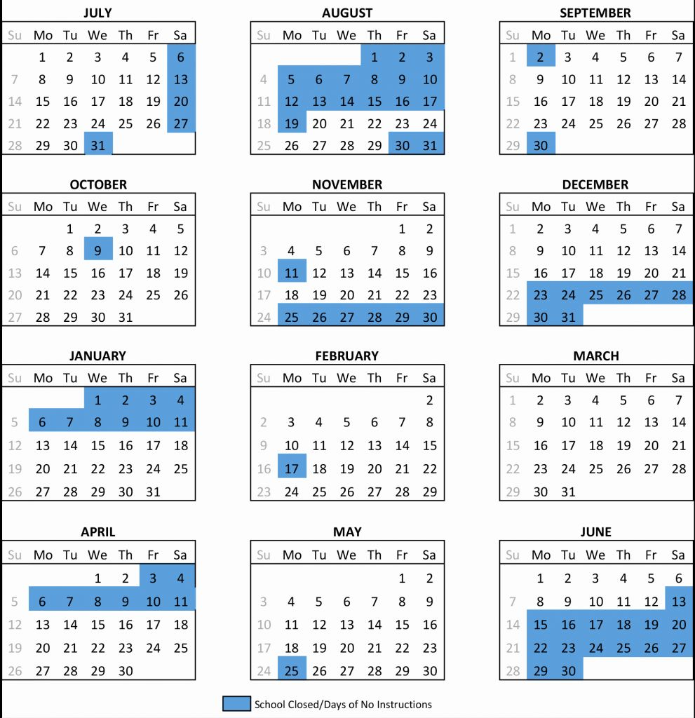 Lausd School Calendar 2020 2021 – Samyysandra For The School District Of Palm Beach County School Calendar 2020 2021