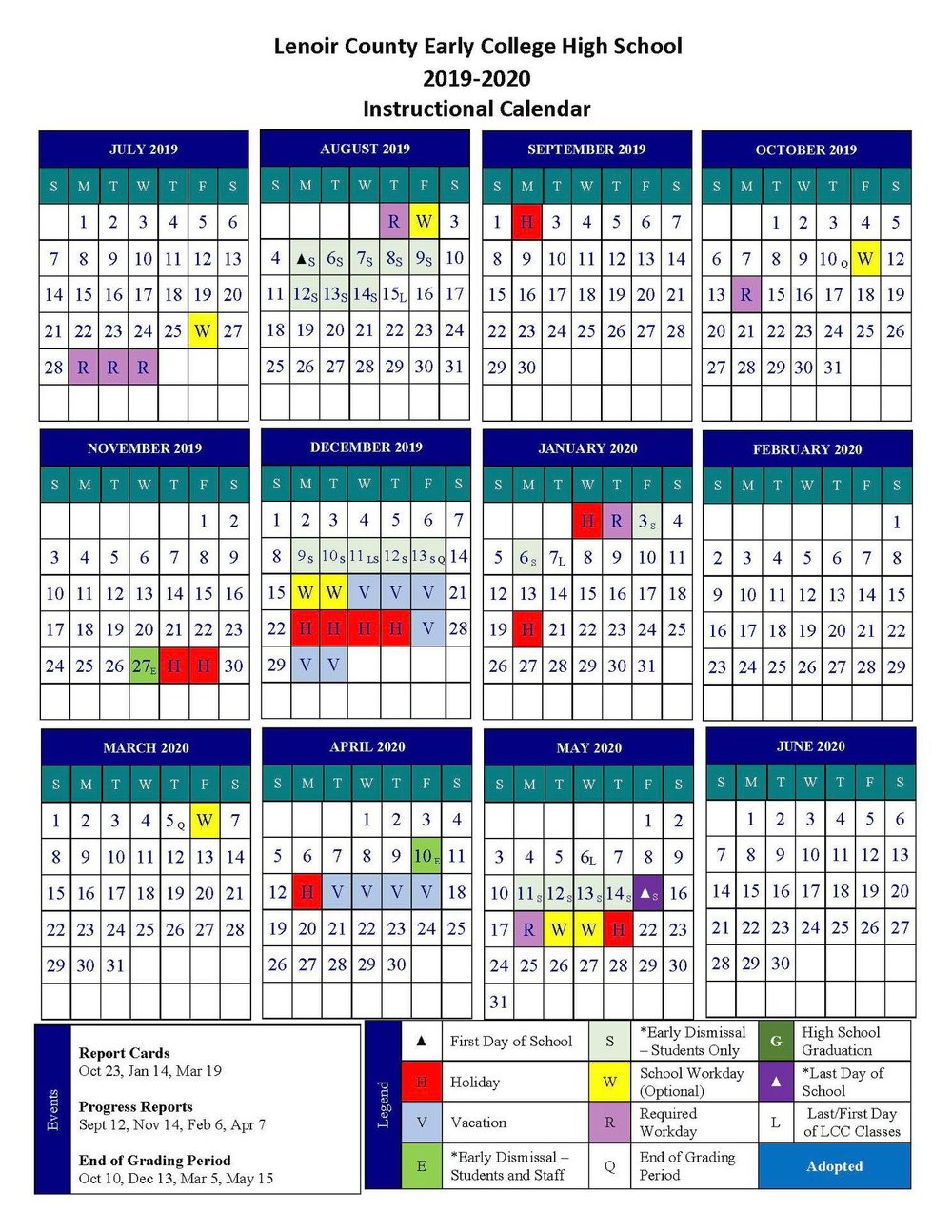 Lcps: Calendar Approved For Next School Year To Give With Onslow County Court Calendars