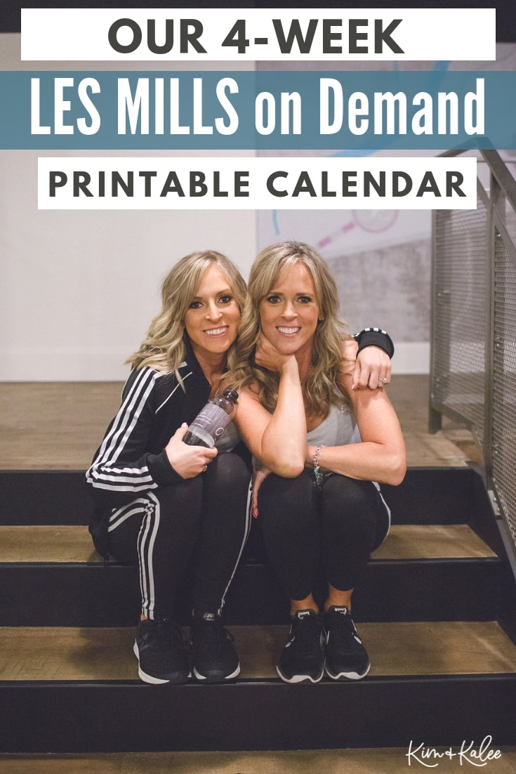 Les Mills On Demand Workout Calendar – Free Printable Inside Body Combat Workout Schedule