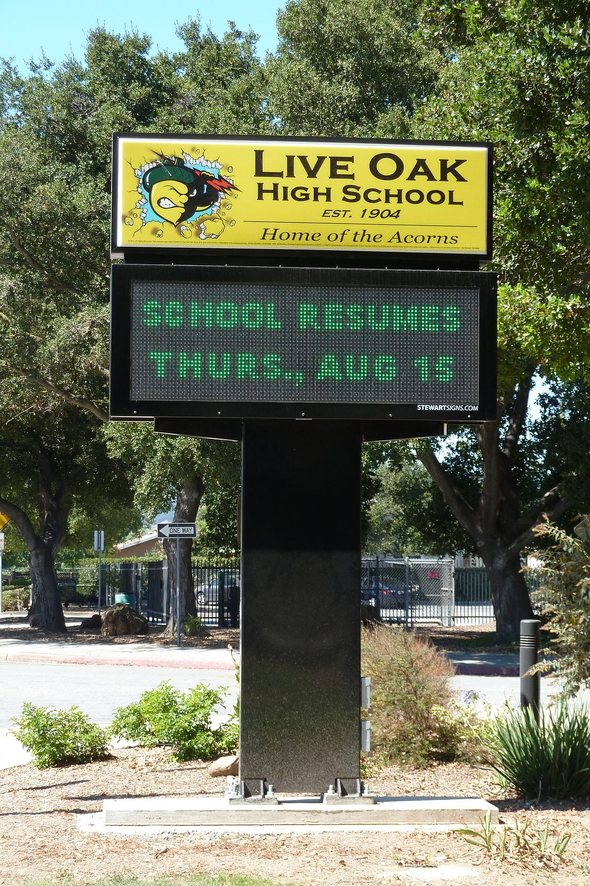 Live Oak High School (Morgan Hill, California) – Wikipedia With Morgan Hill Unified School District Calendar