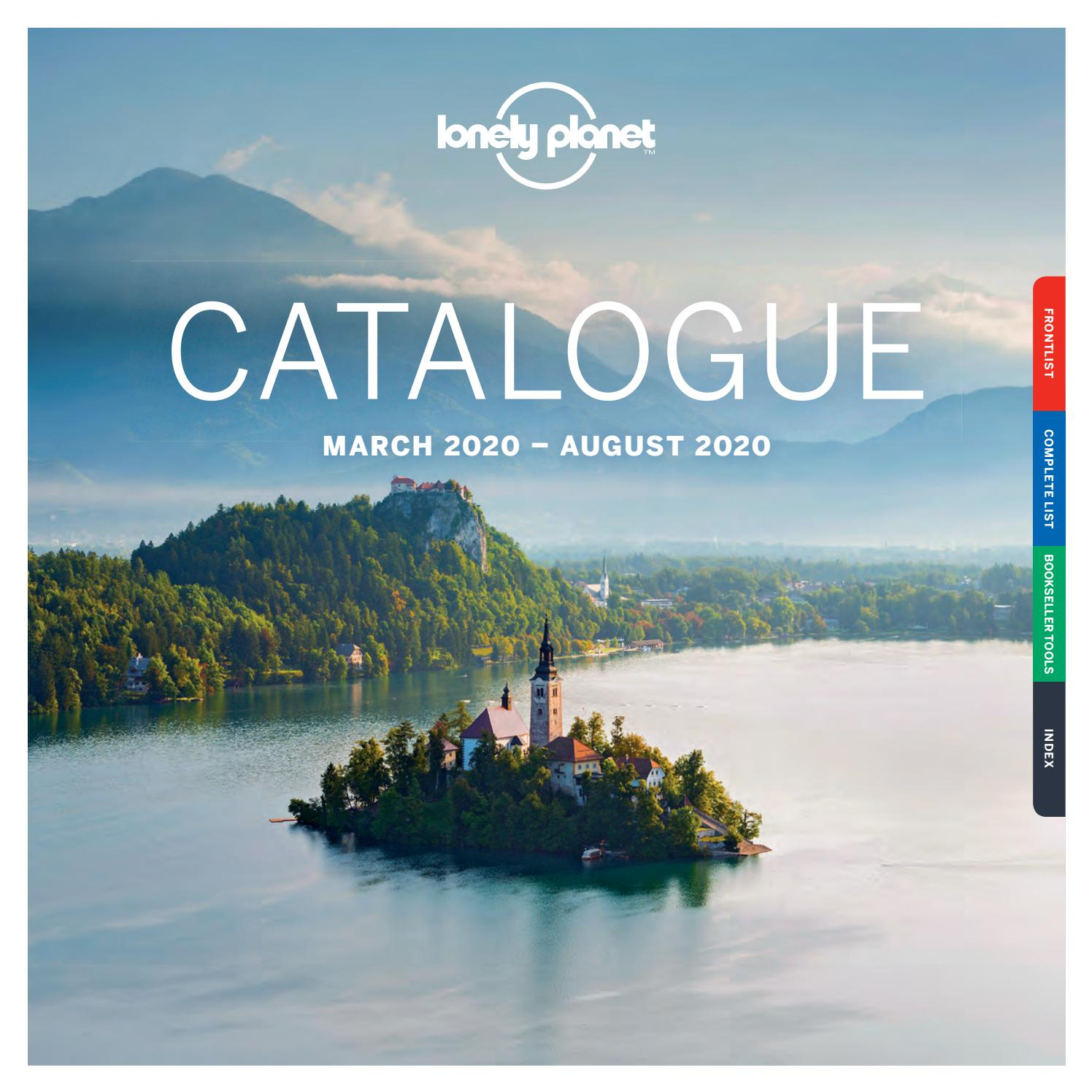Lonely Planet Catalogue March 2020 – August 2020 – Uk/emea Pertaining To Blue Valley Schools 2021 19 Calendar
