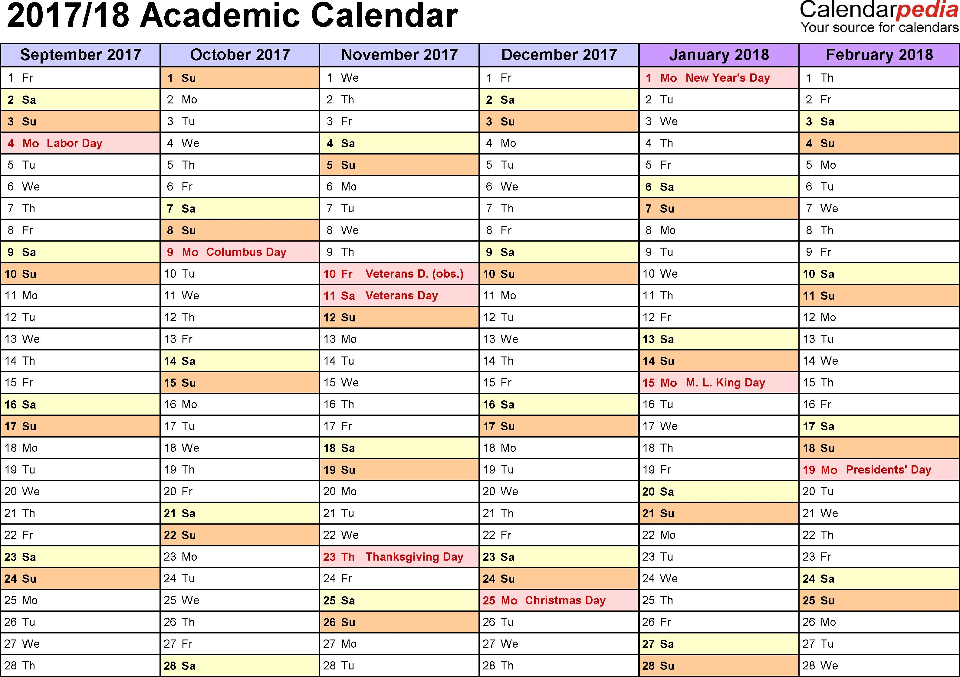 Lovely Academic Printable Calendar Inside Flanders Family 2020 Academic Calendar  2021