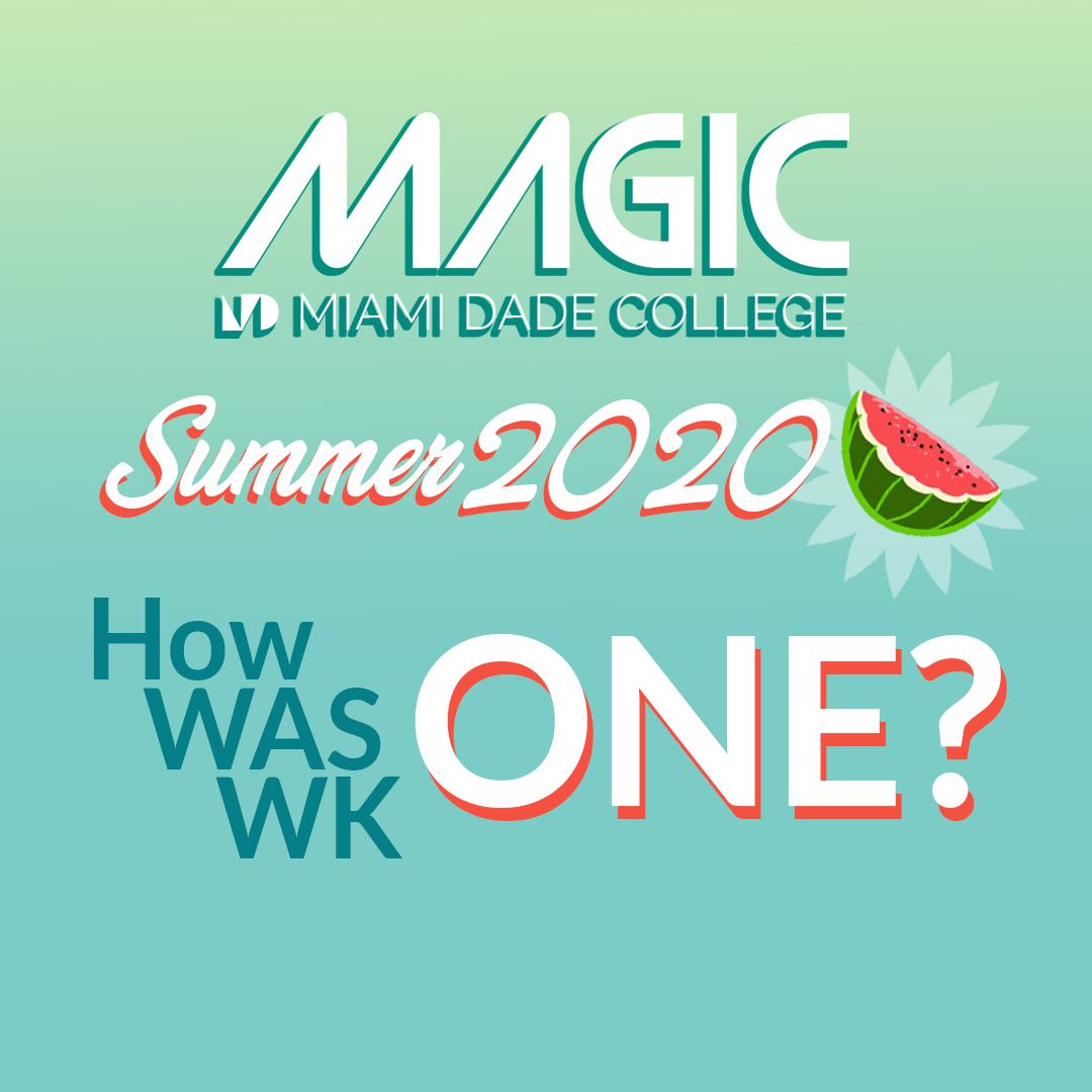Magic (@magic Mdc) | Twitter Intended For First Day Of Class Miami Dade College Fall 2020