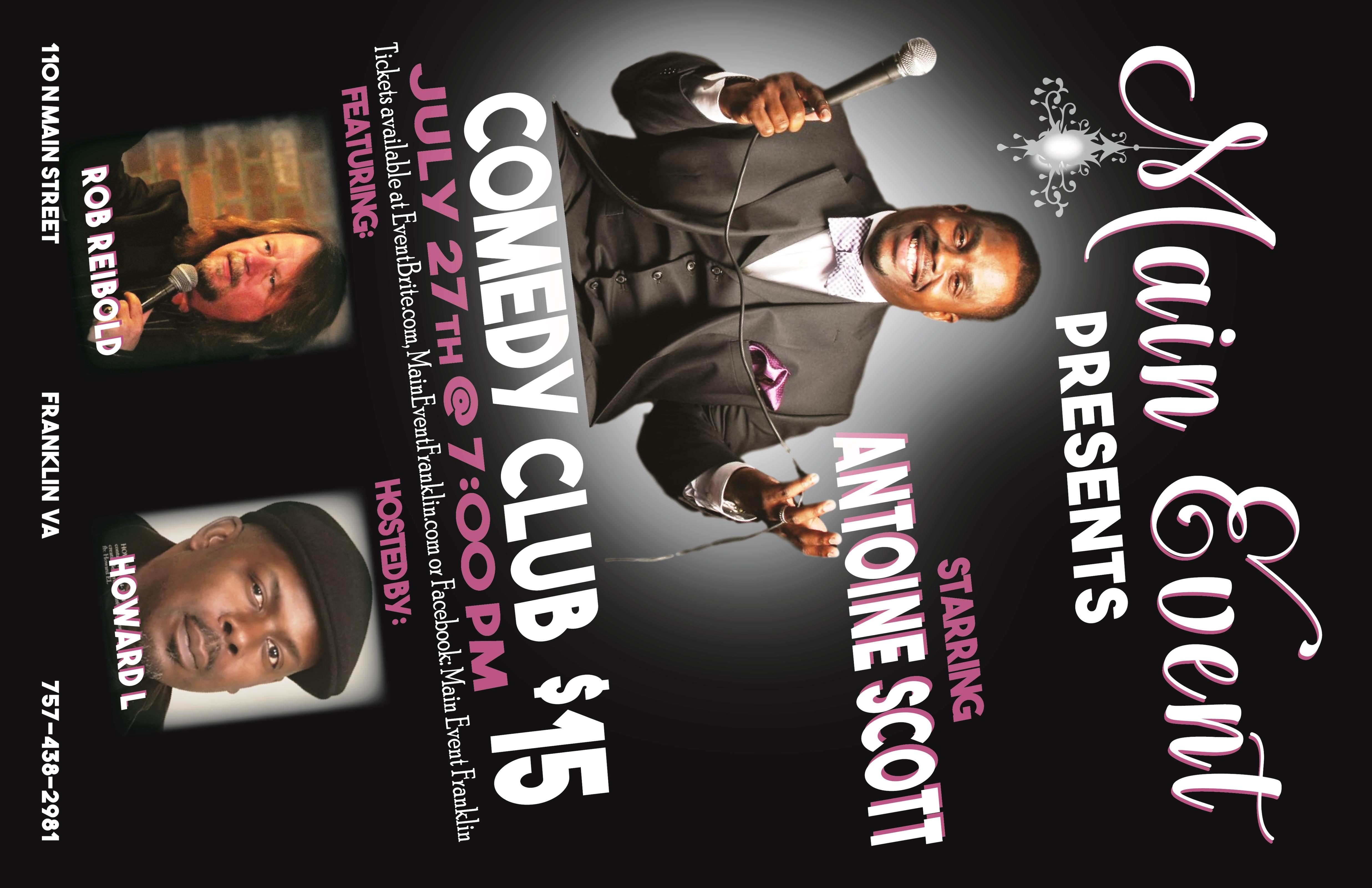 Main Event Presents Comedy Club | Events Calendar | Welcome For Comedy Club Virginia Beach Calendar