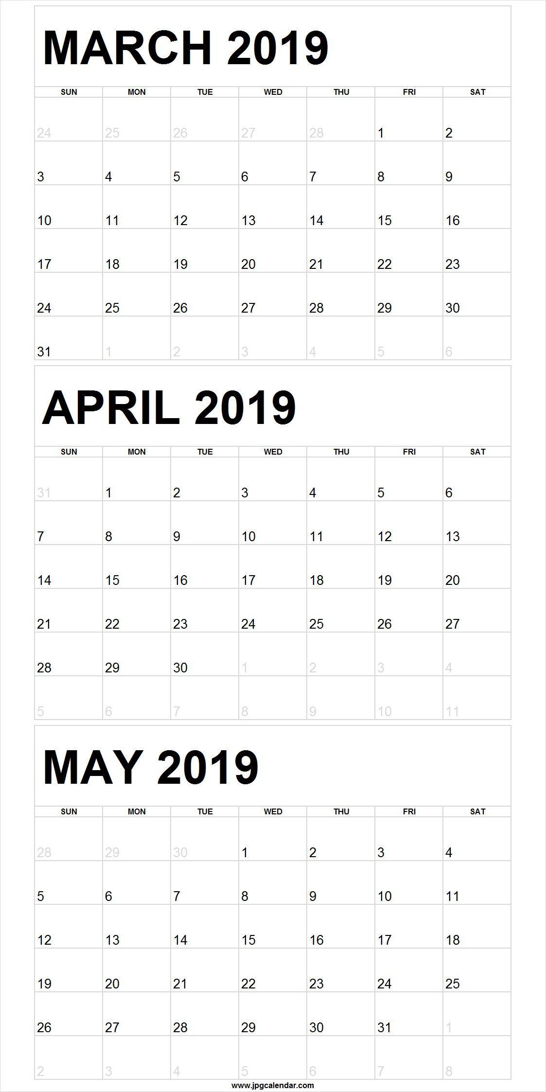 March April May 2020 Calendar Printable Pdf Word Excel With Uri Academic Calendar 2021