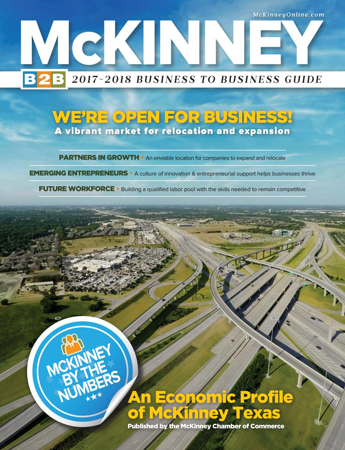 Mckinney Tx Chamber Of Commerce B2B Guide Business Directory With Sprinh Break In Collin College 2029