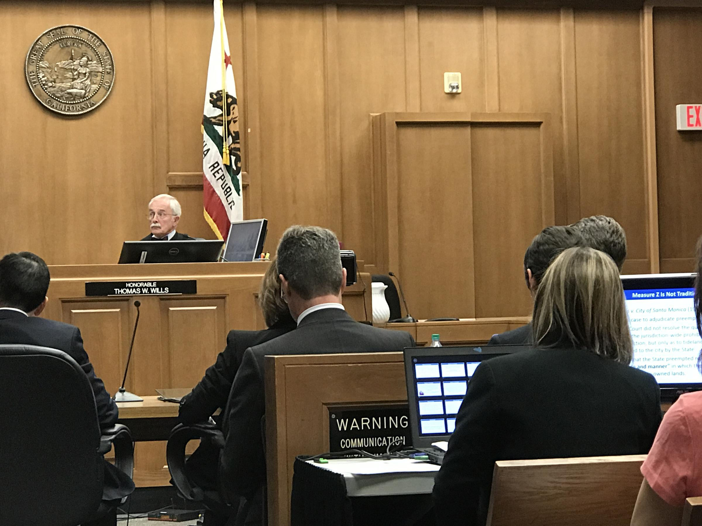 Measure Z: Voters Won't Get Everything They Hoped For | 90.3 In Monterey County Superior Court Schedule