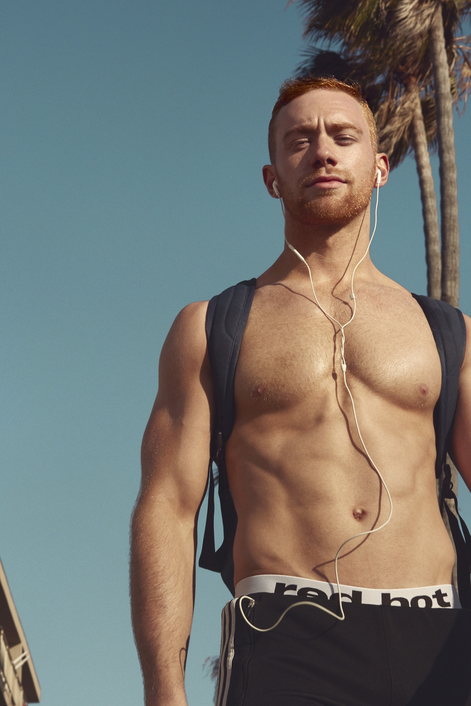 Meet The 12 Ginger Hunks In New Red Hot American Calendar Throughout Men On A Mission Calendar