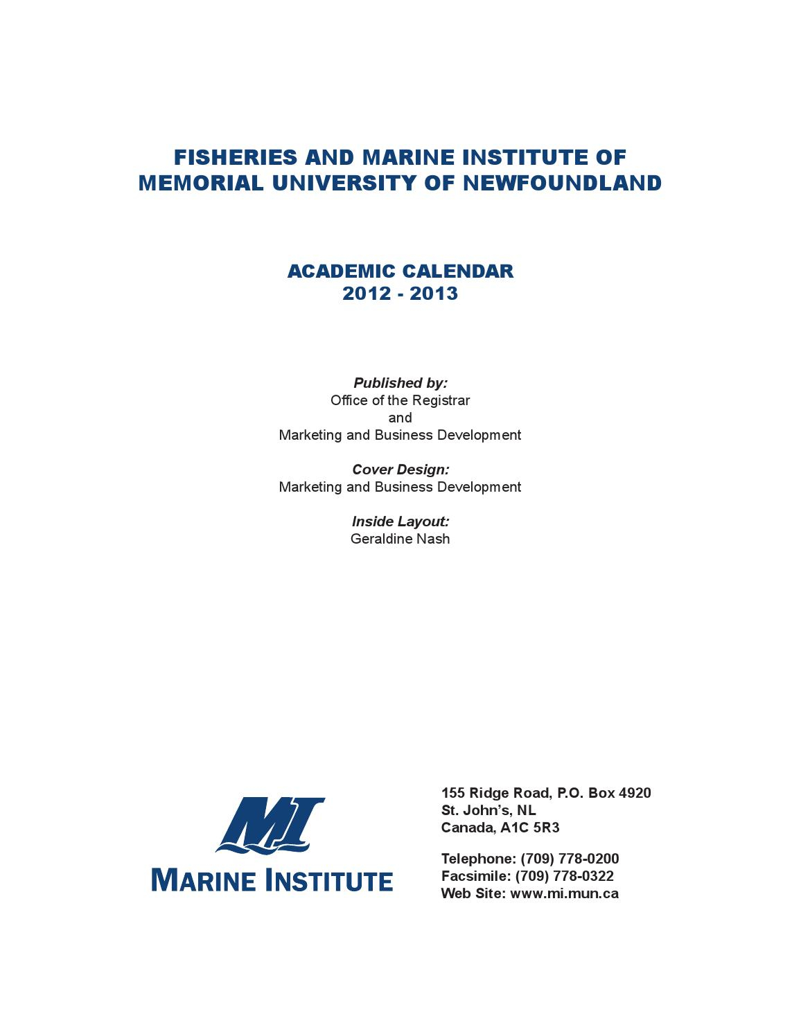 Mi Web Calendarmarine Institute - Issuu in Case Western Reserve University Academic Calendar